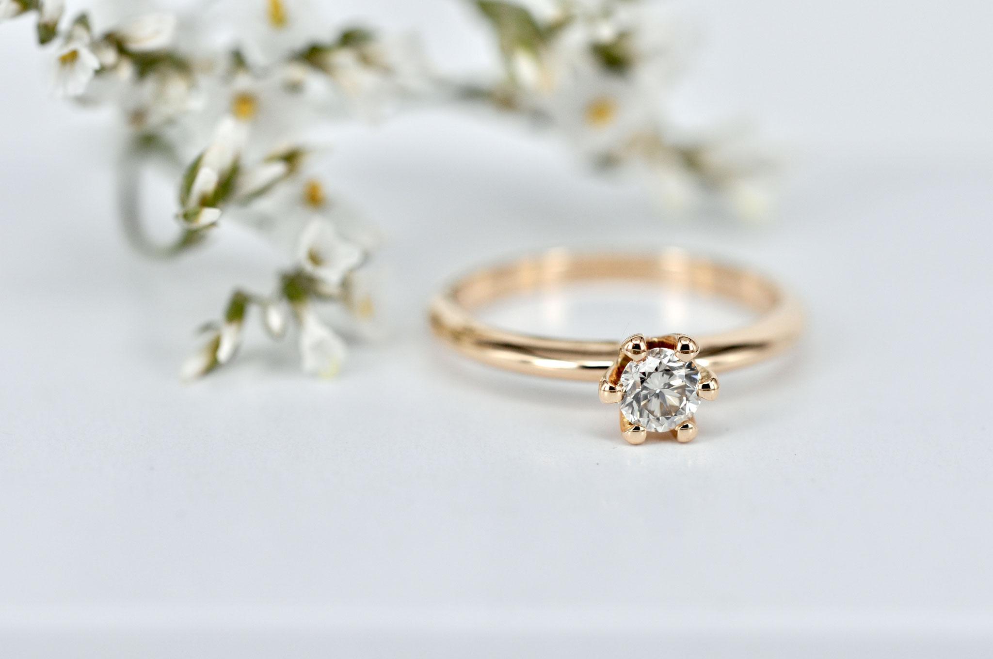 nachhaltig produzierter Verlobungsring