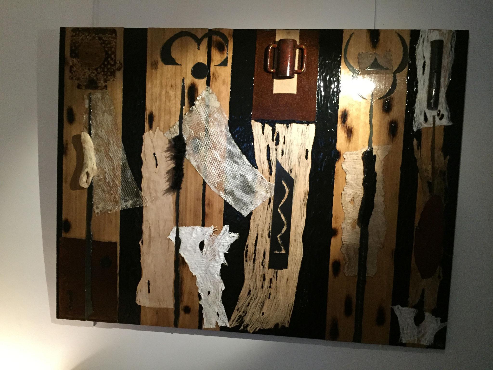 Africa (schow-room)  H 120 cm x L 160 cm