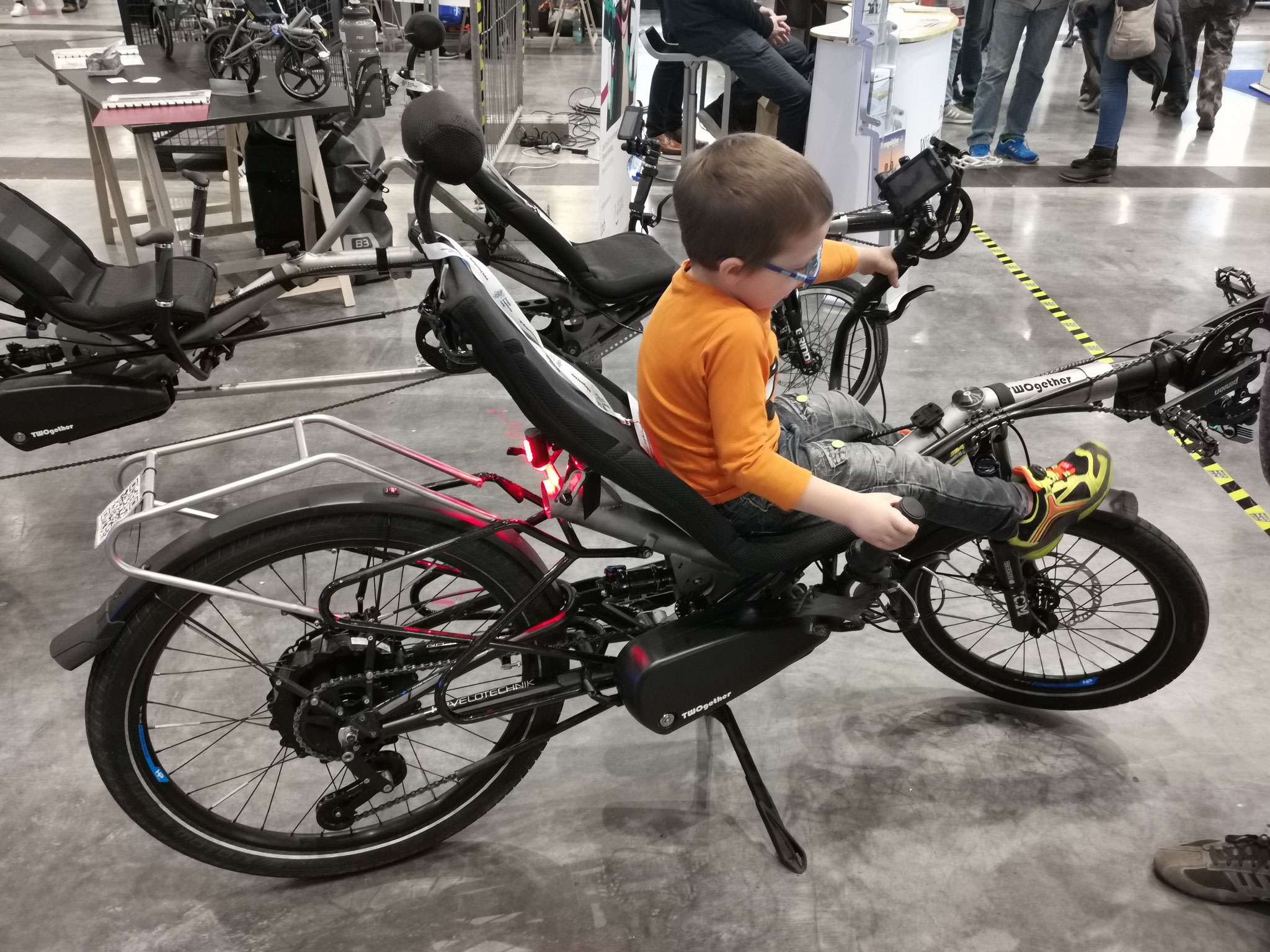 "Recumbent TWOgether Co. (""Maker Fair"" in Stuttgart 2019)"