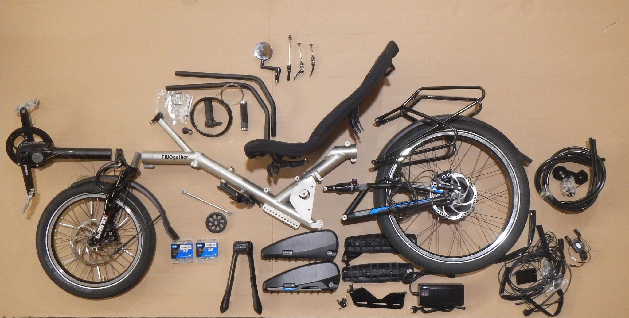臥式單人自行車    Kit_TWOgether Co.