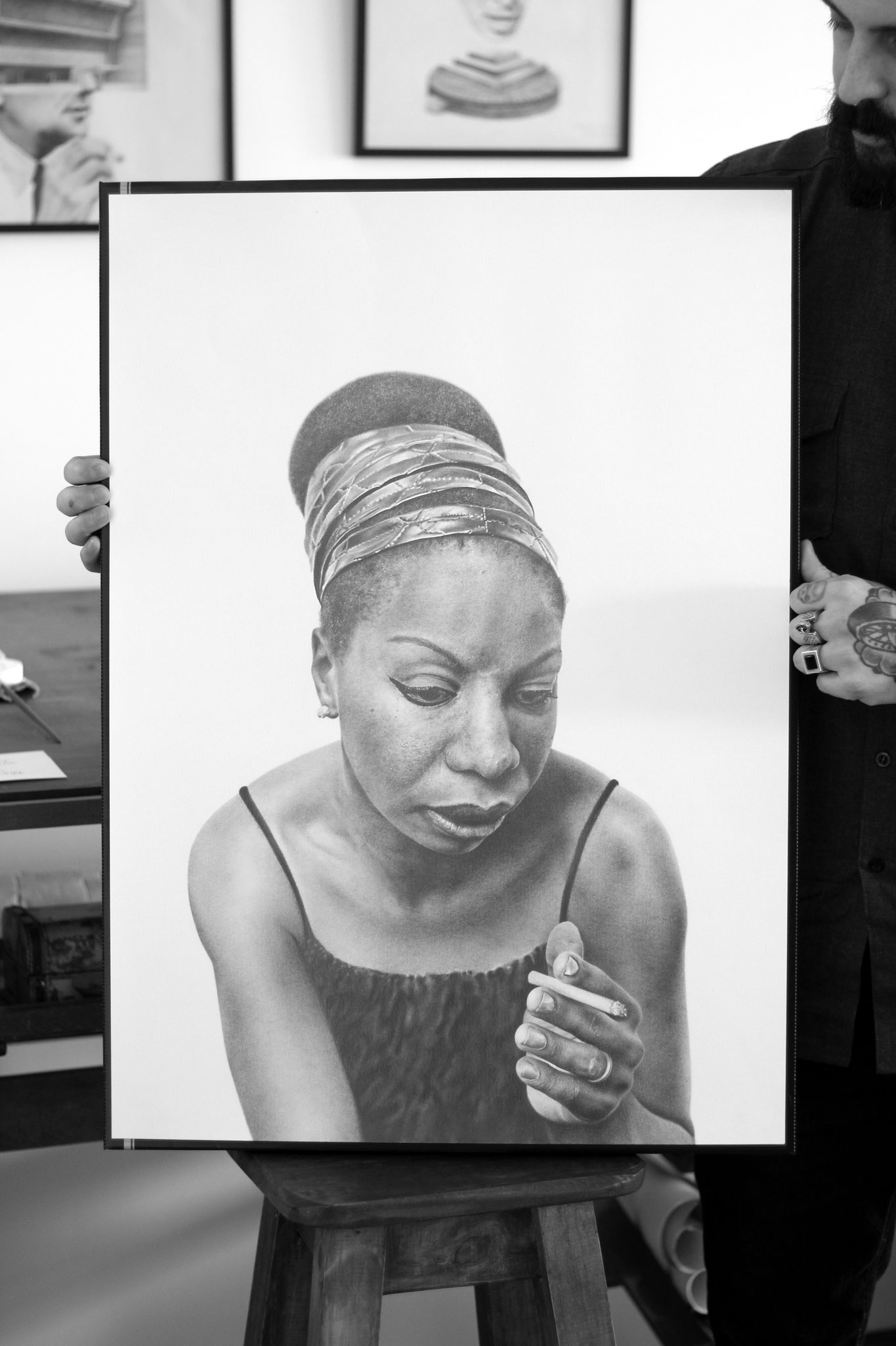 Nina Simone, Framed