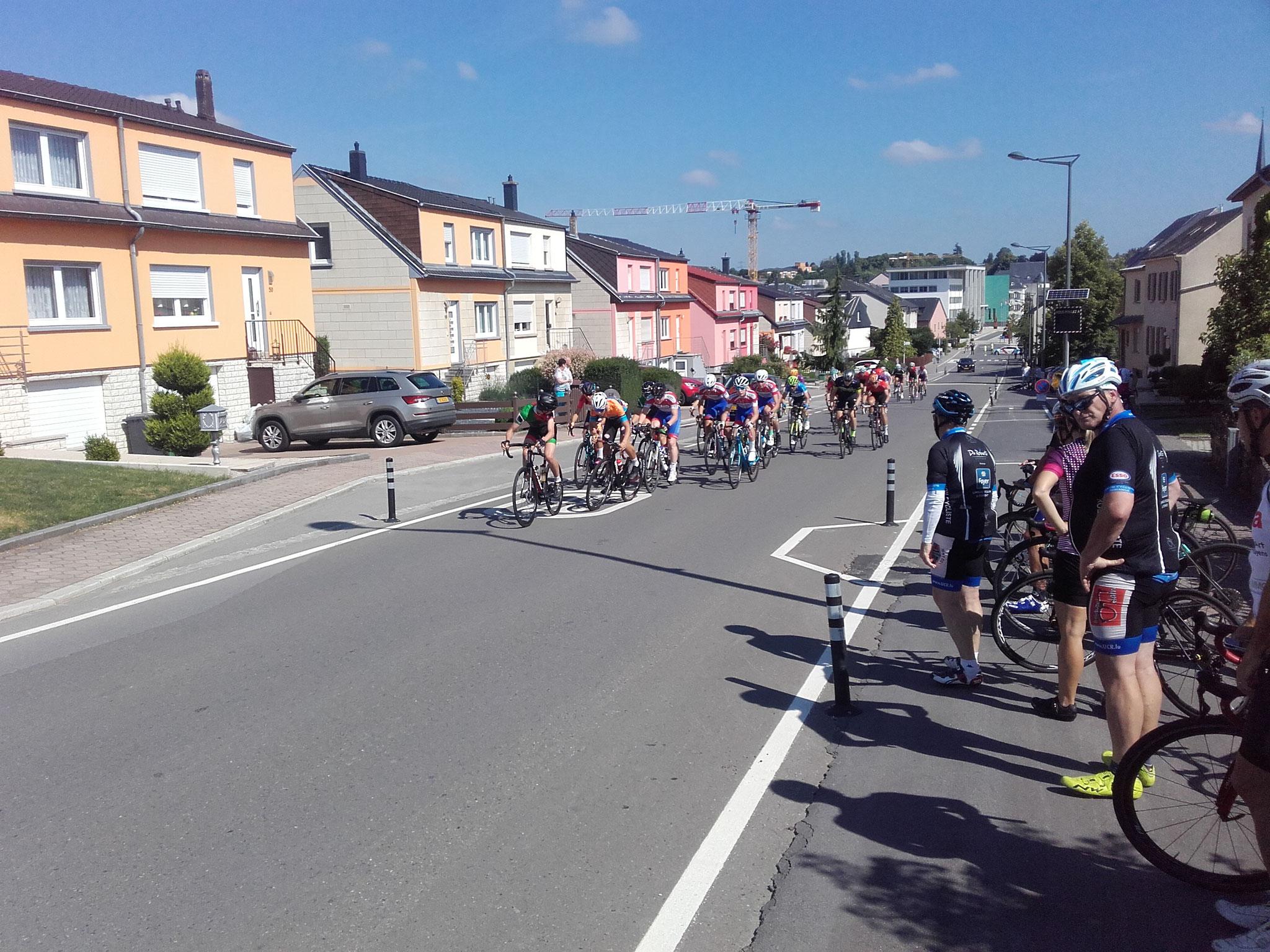 Course cycliste Bertrange