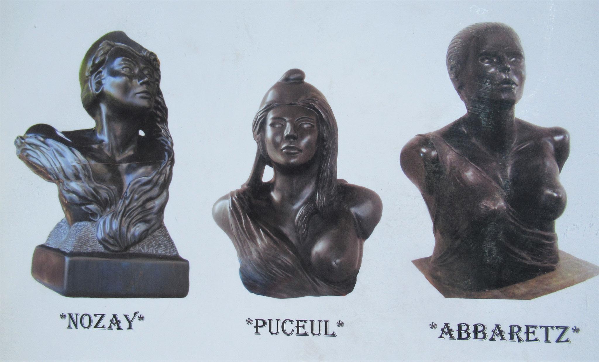 Mariannes - Sculptures de B. Chopin