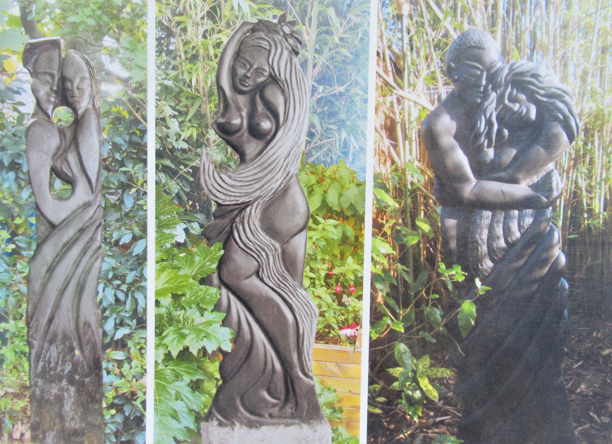 Sculptures de B.Chopin
