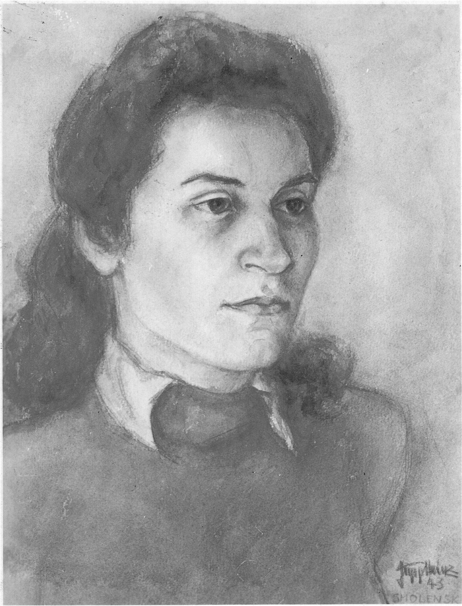 Portrait aus Smolensk 1943