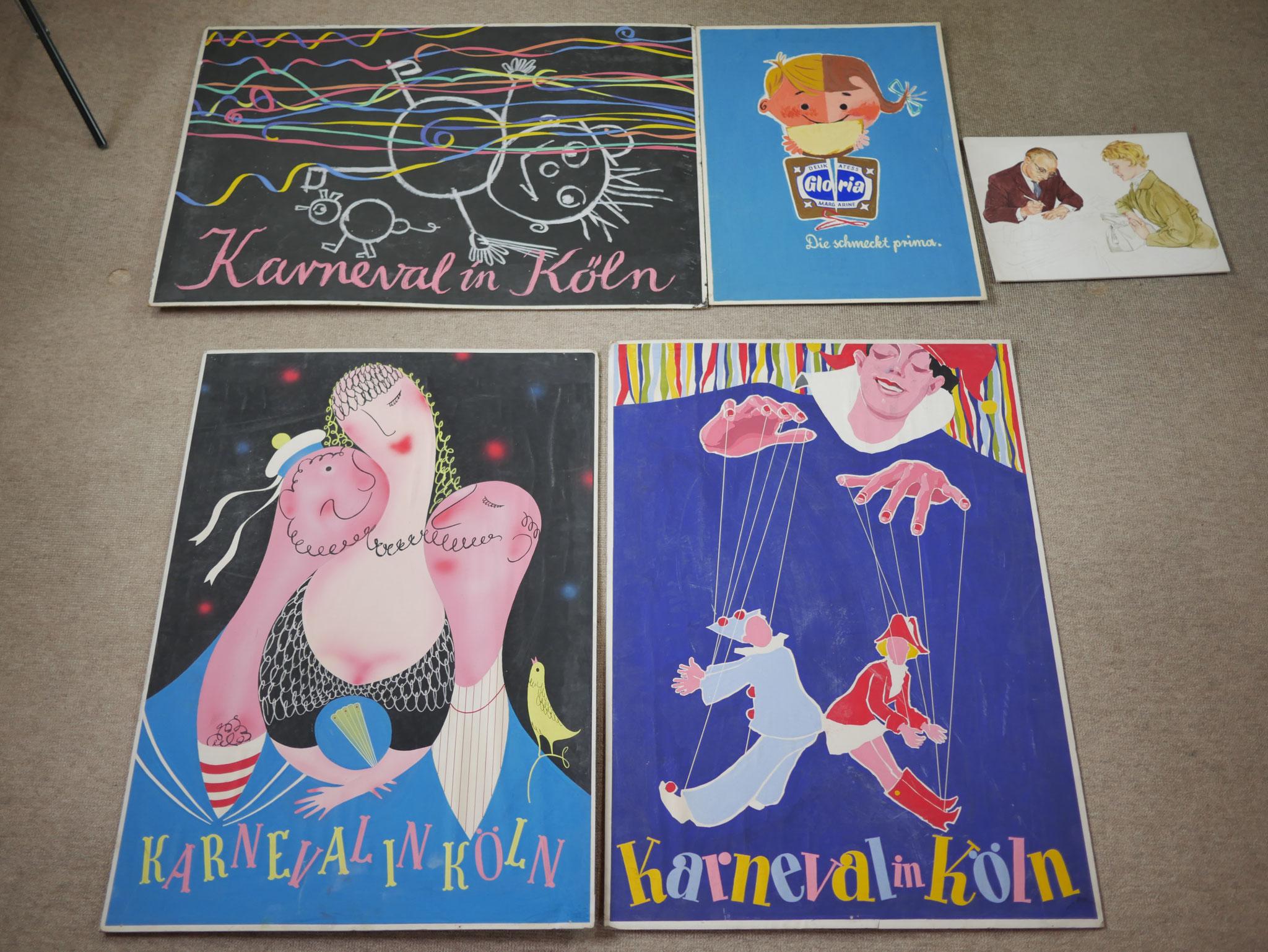 Plakatentwürfe