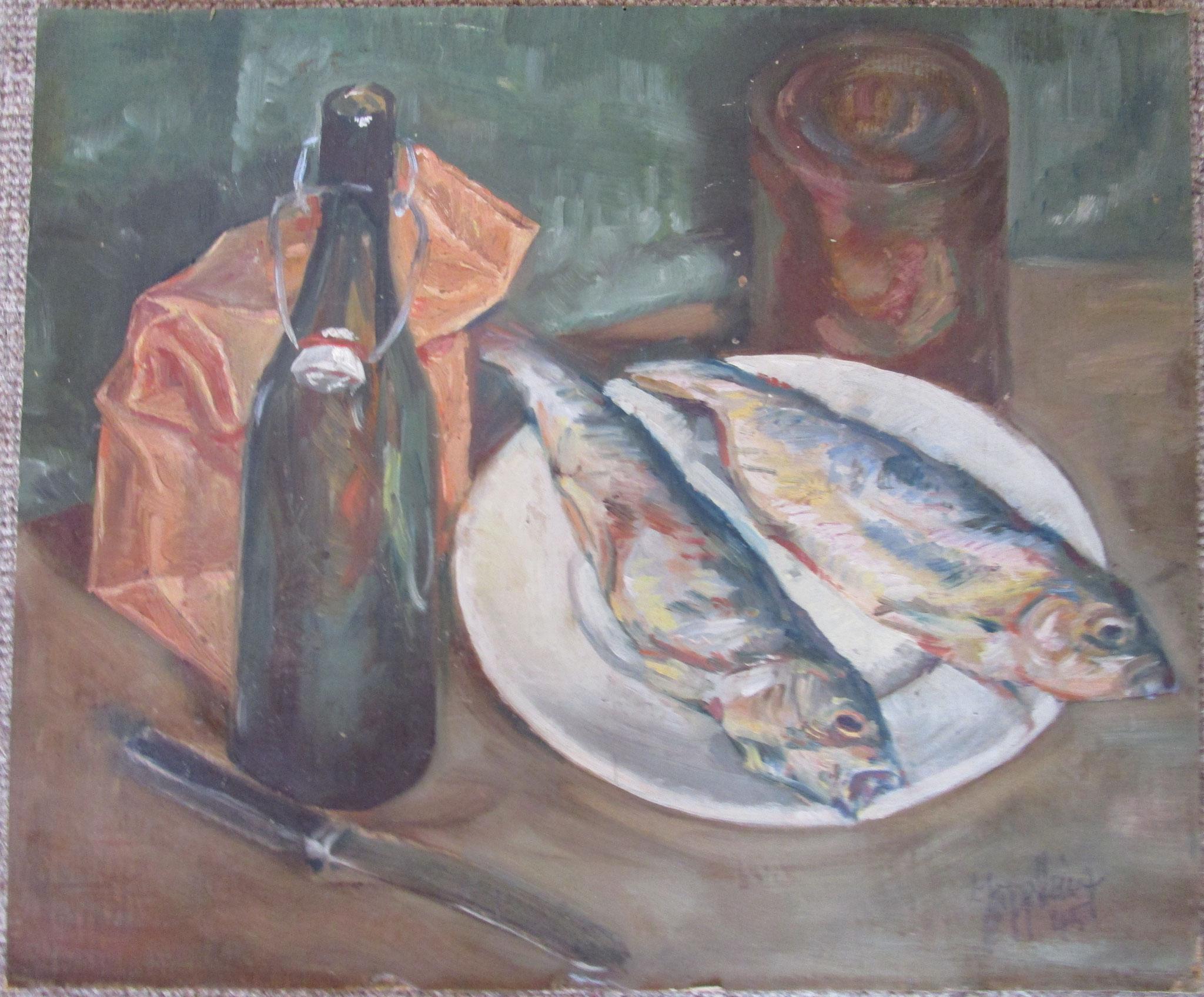 Stilleben mit Fischen 1