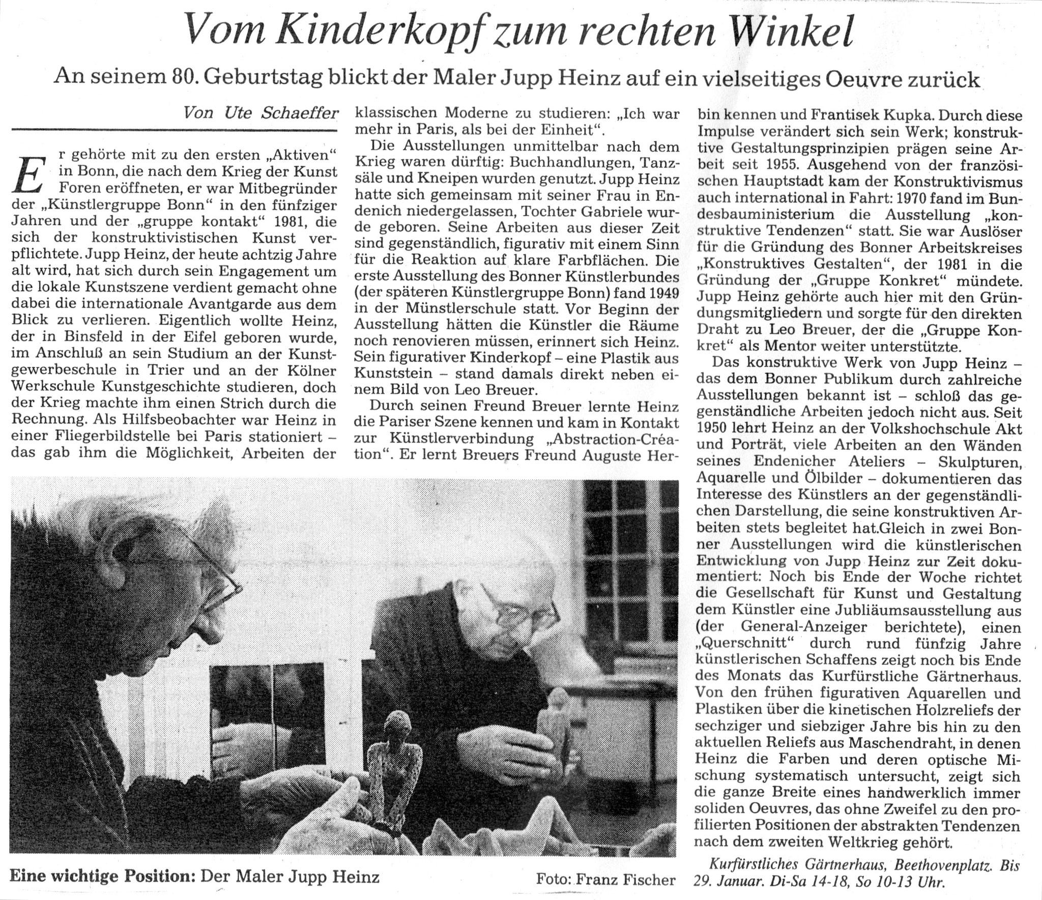 Bonn, General-Anzeiger 1997