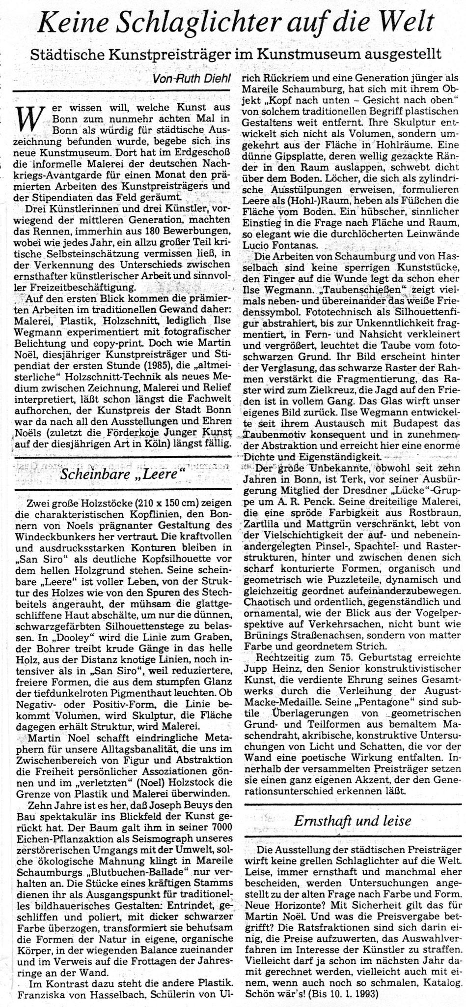 Bonn, General-Anzeiger 1993