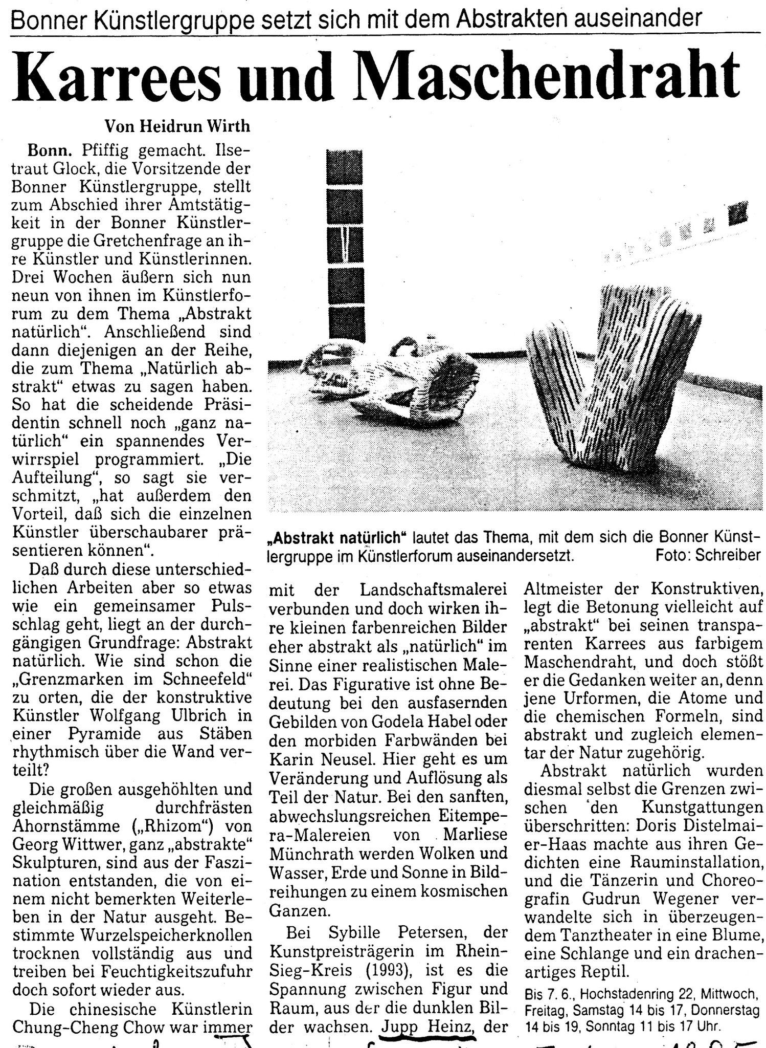 Bonn, Bonner Rundschau 1993