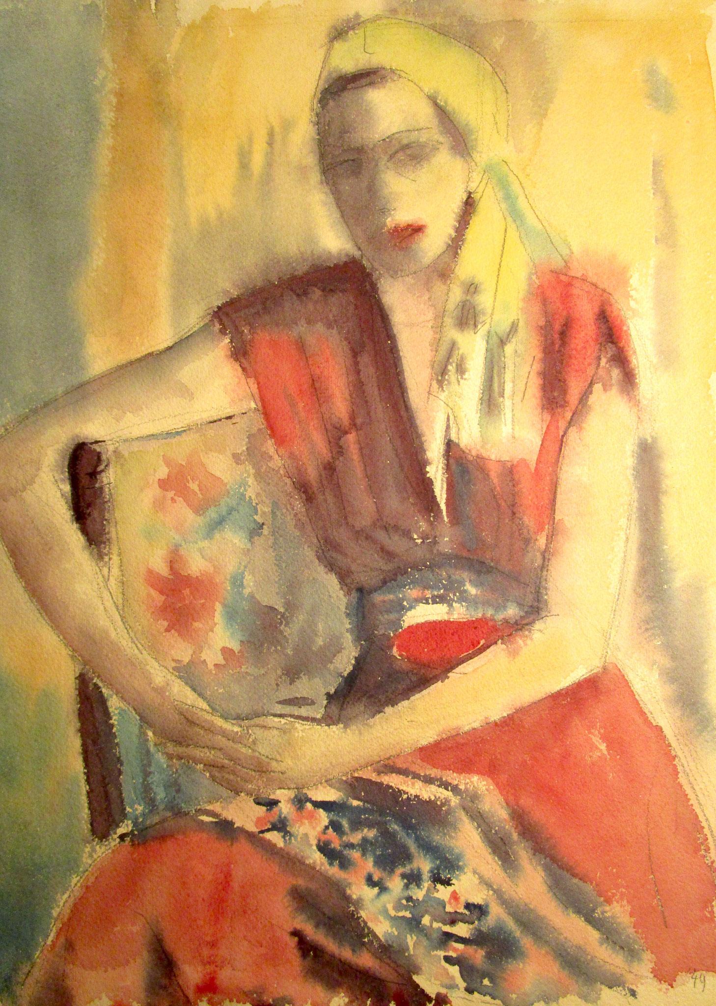 Frauenbild 1949