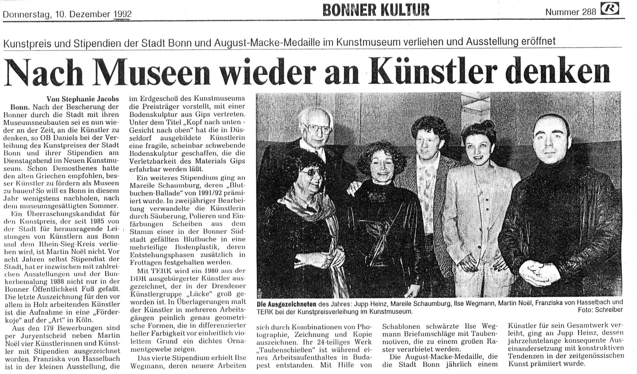 Bonn, Bonner Rundschau 1992