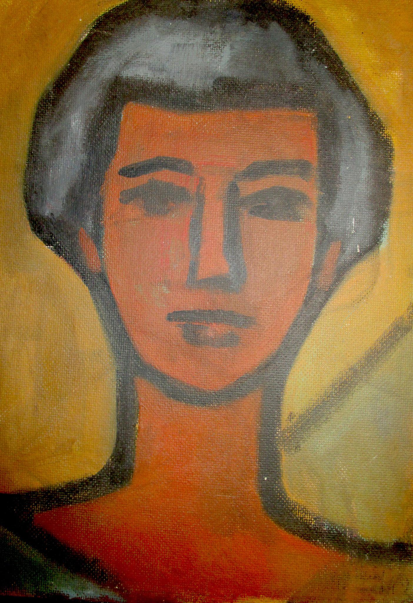 Portrait junge Frau 1949