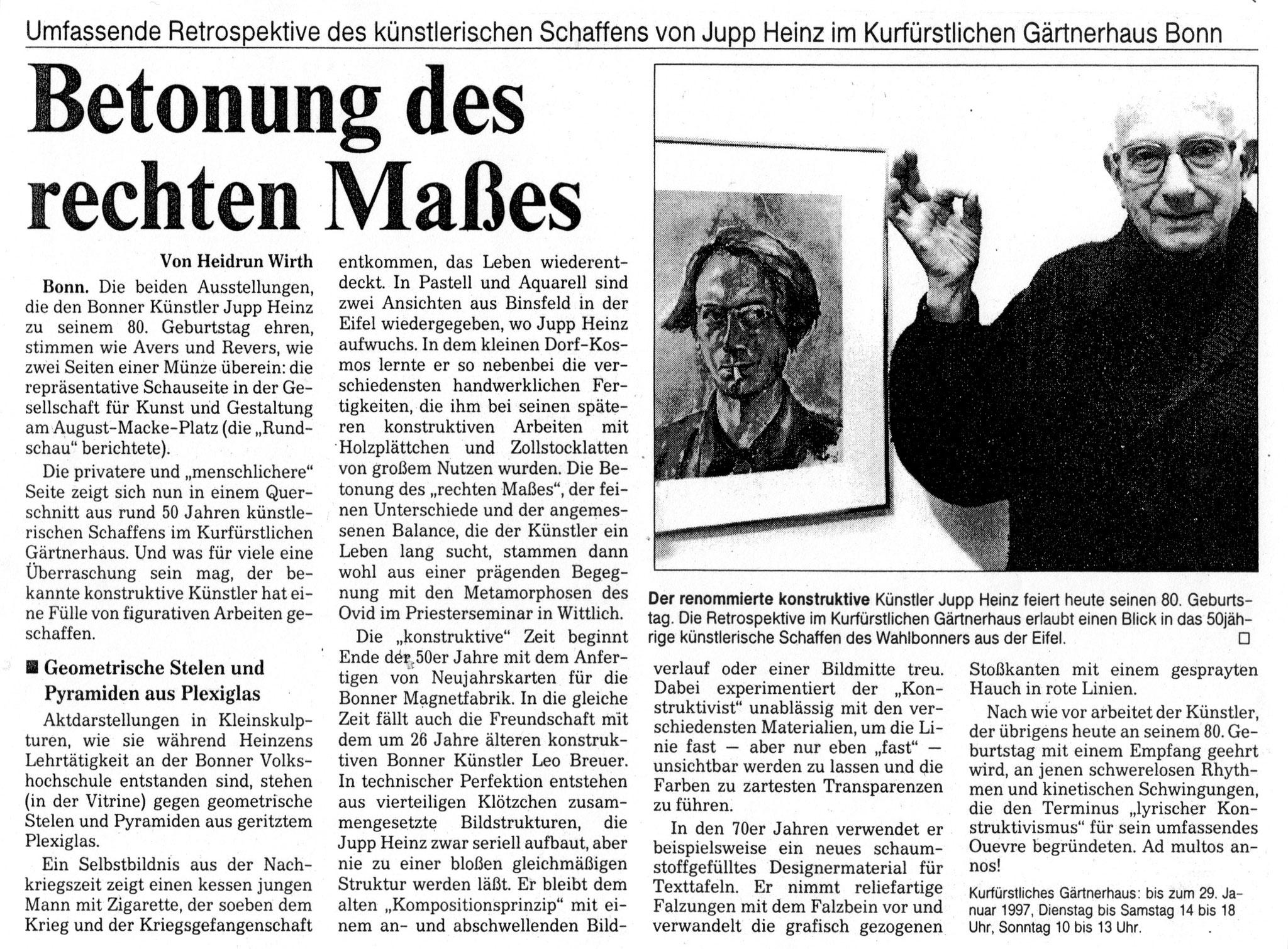 Bonn, Bonner Rundschau 1997
