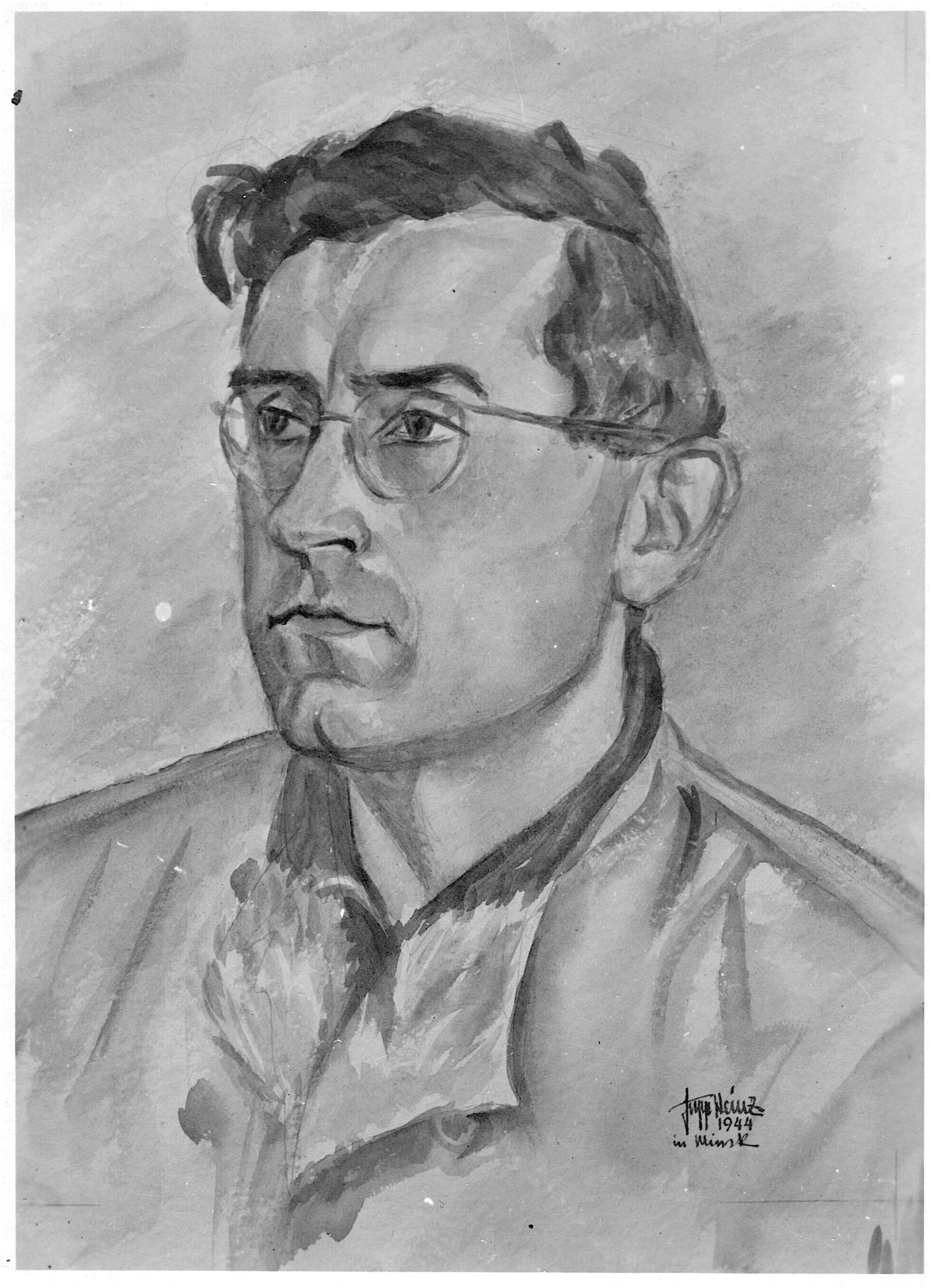 Portrait in Minsk 1944