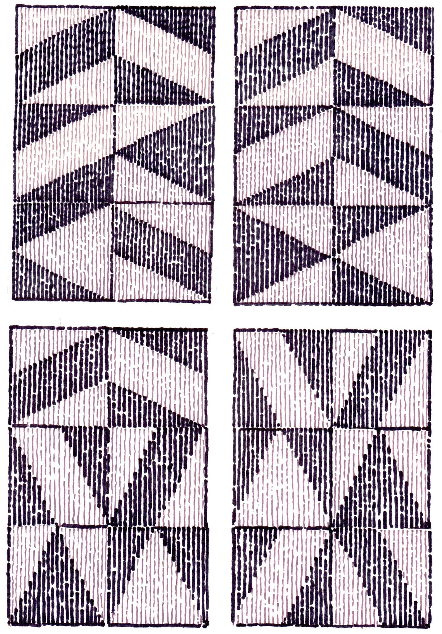 Entwurf Formen ca. 1990