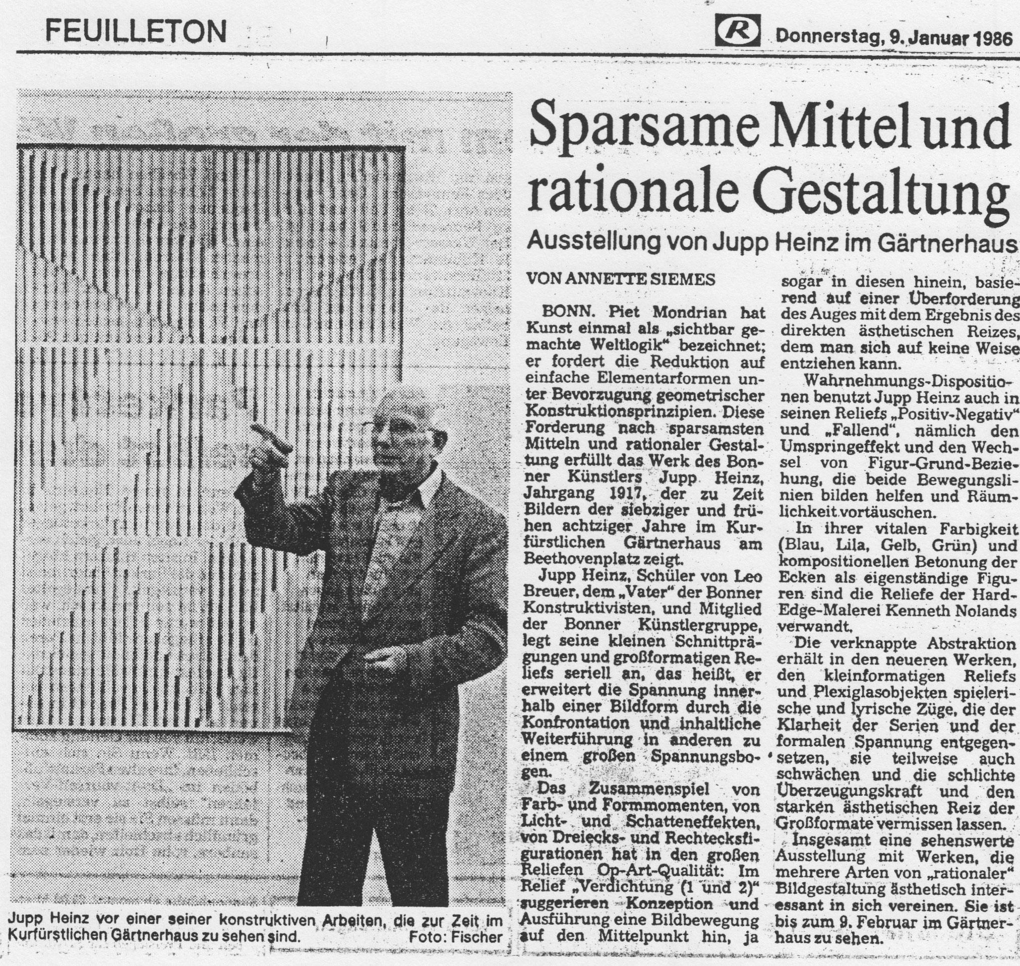 Bonn, Bonner Rundschau 1986