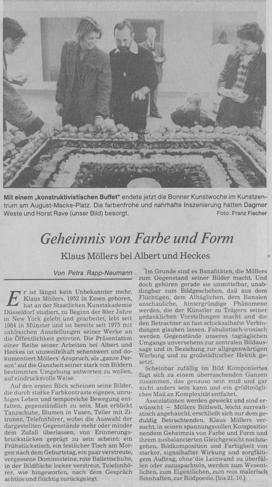 Bonn, General-Anzeiger 1989