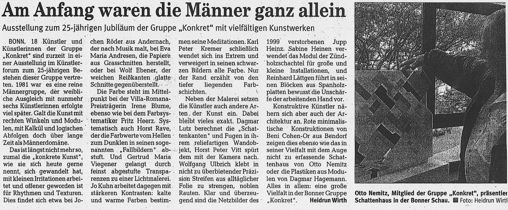 Rheinzeitung Andernach, 2006
