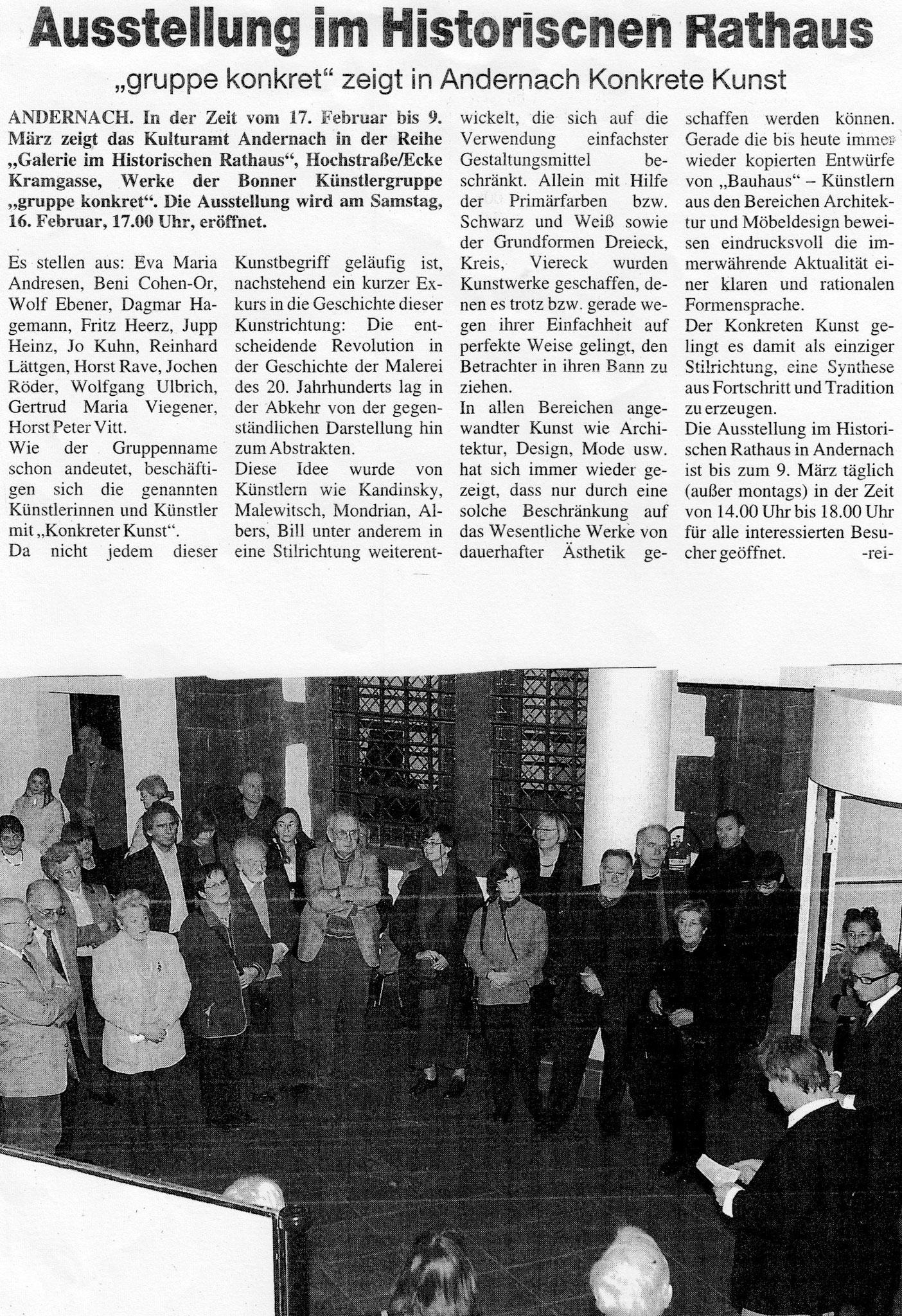Andernach 2001