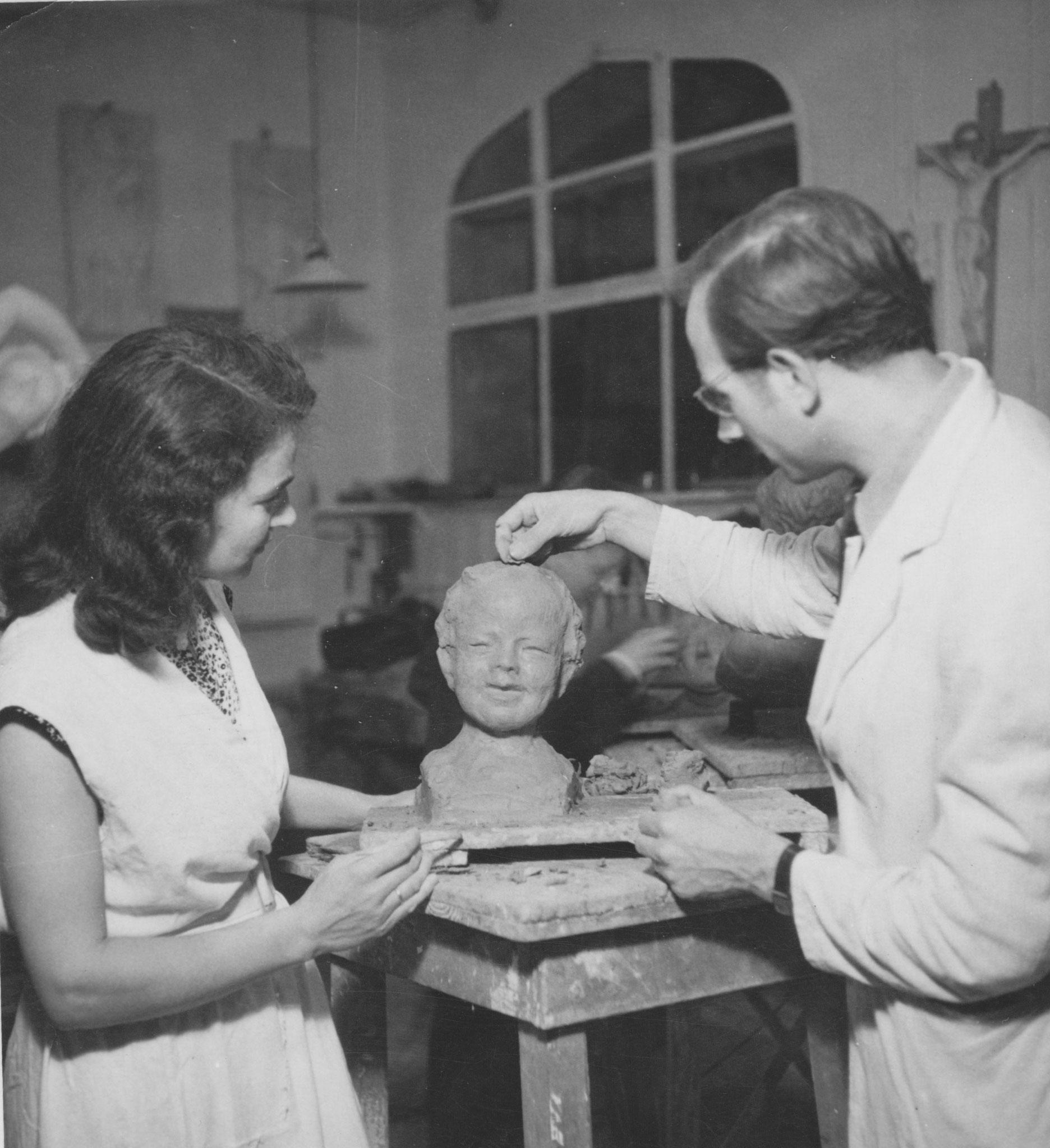 JH Bonn Volkshochschule 1950