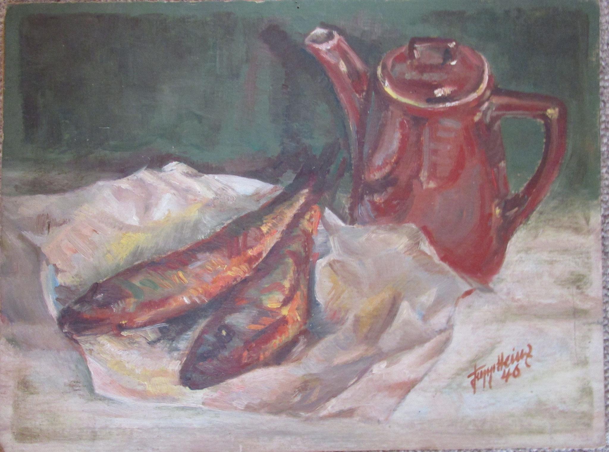 Stilleben mit Fischen 2