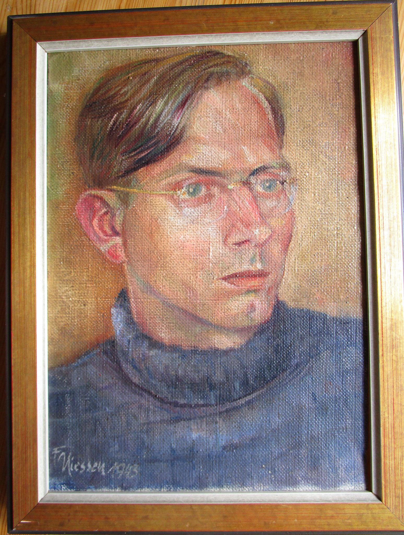 Portrait JH von Franz Niessen
