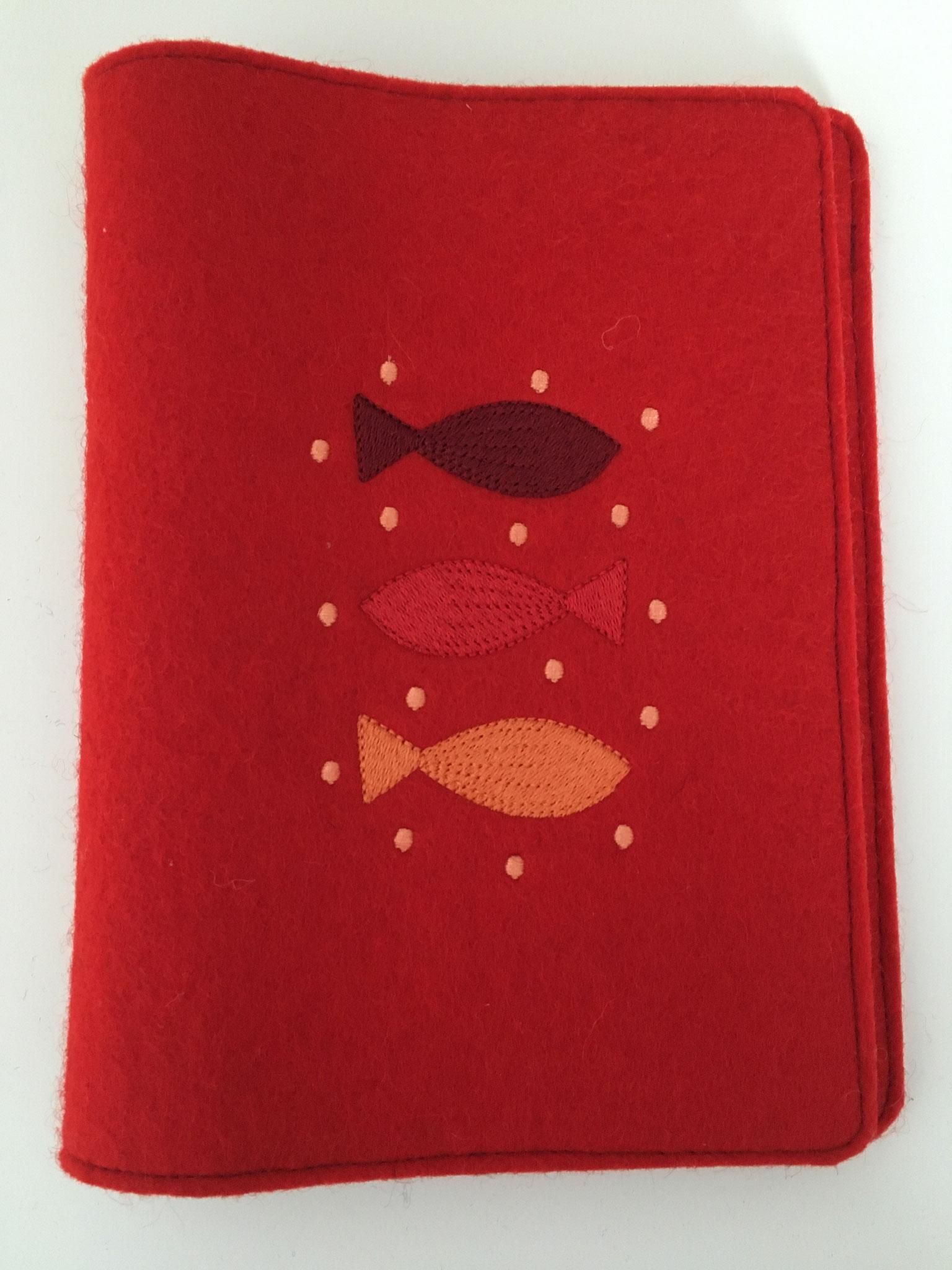 Drei Fische - rot