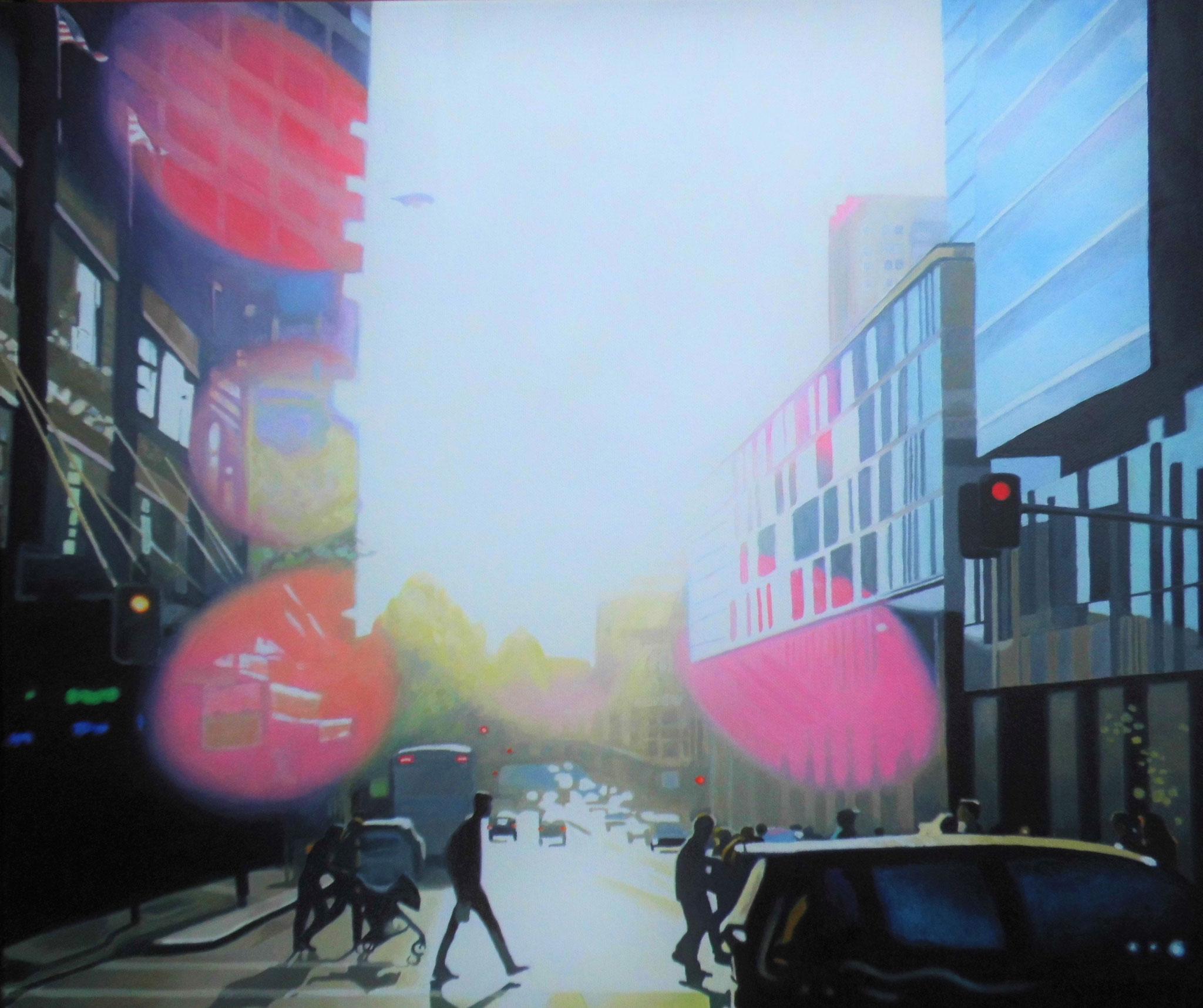 Pittstreet, Oil on Canvas, 60 x 50 cm