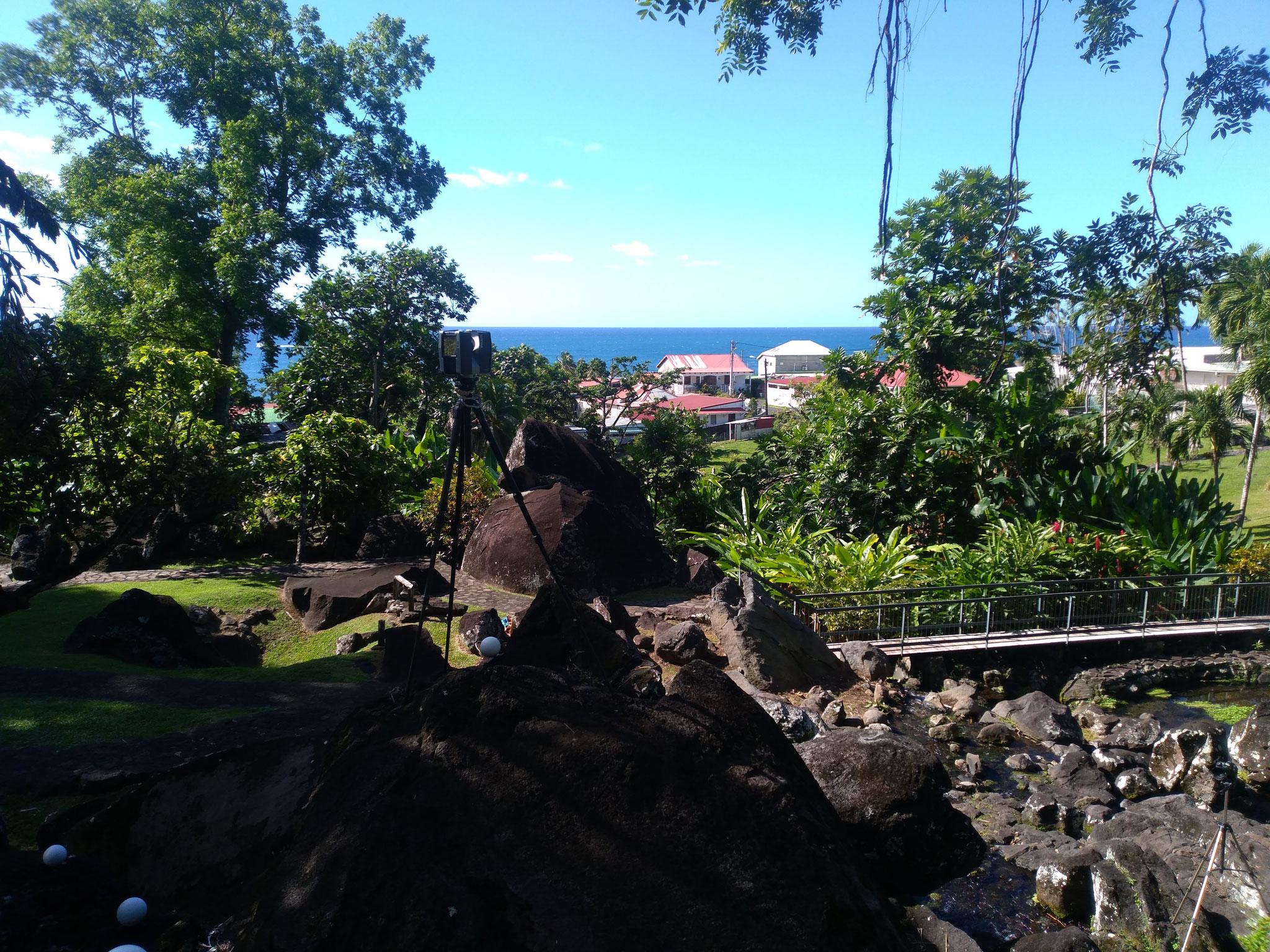 Potentiel archéologique des acquisitions topographiques LIDAR et expertise scientifique des sites archéologiques (Guadeloupe).