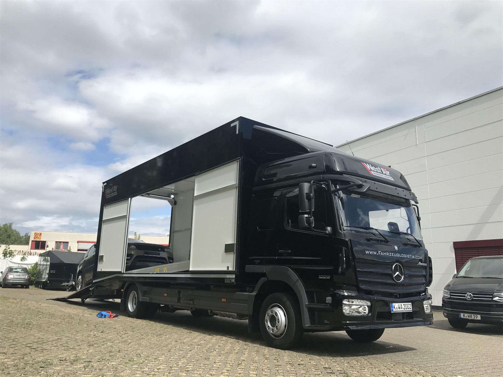 exklusive Fahrzeugtransporte Köln