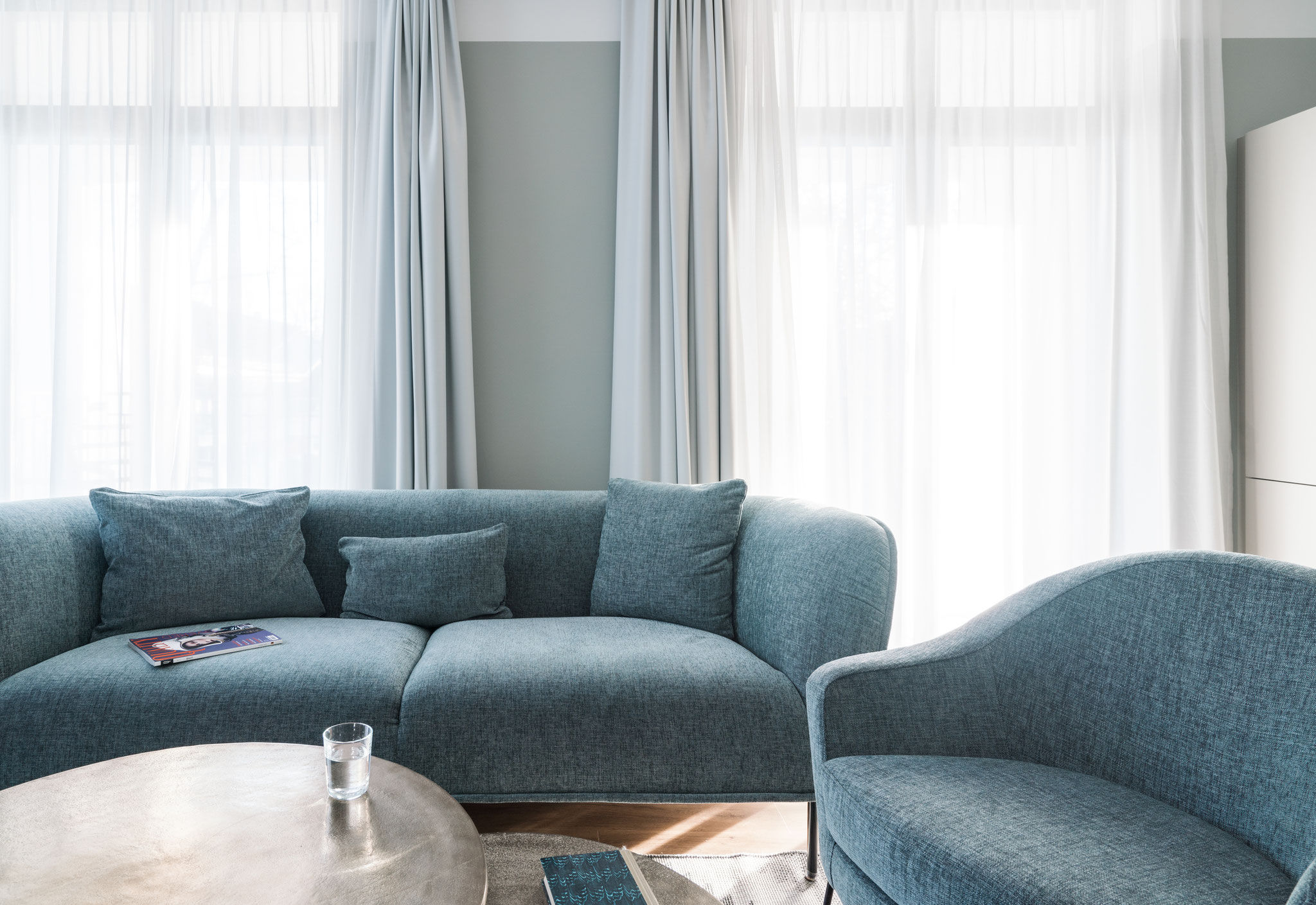 Wohnbereich Appartment für 6 Personen