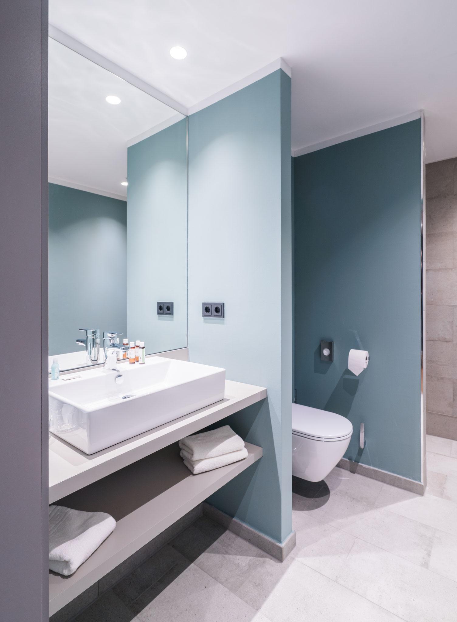 Badezimmer Appartment