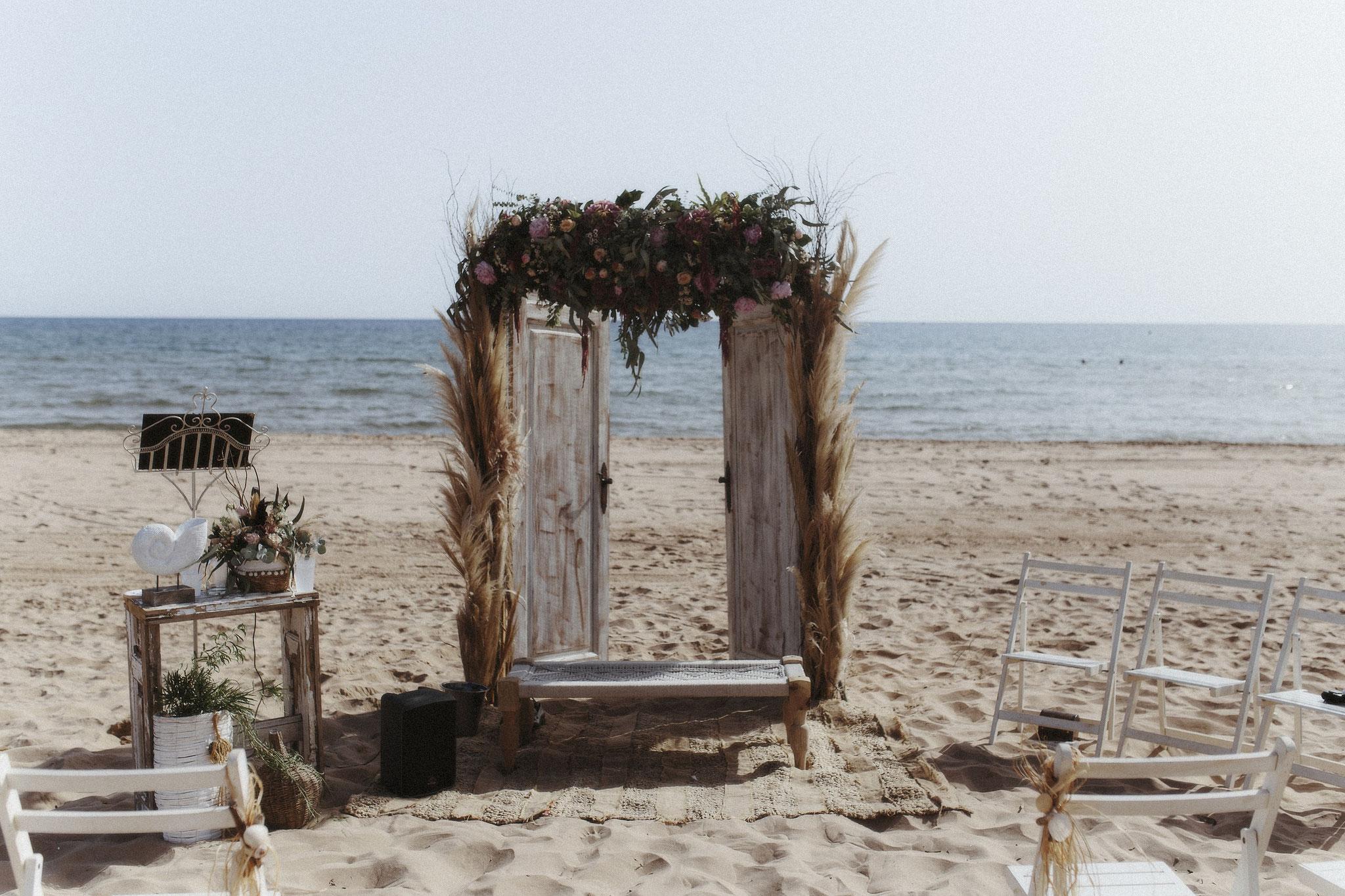 Vor dem Tor zum Meer soll die Zeremonie abgehalten werden (Foto: Revela't)