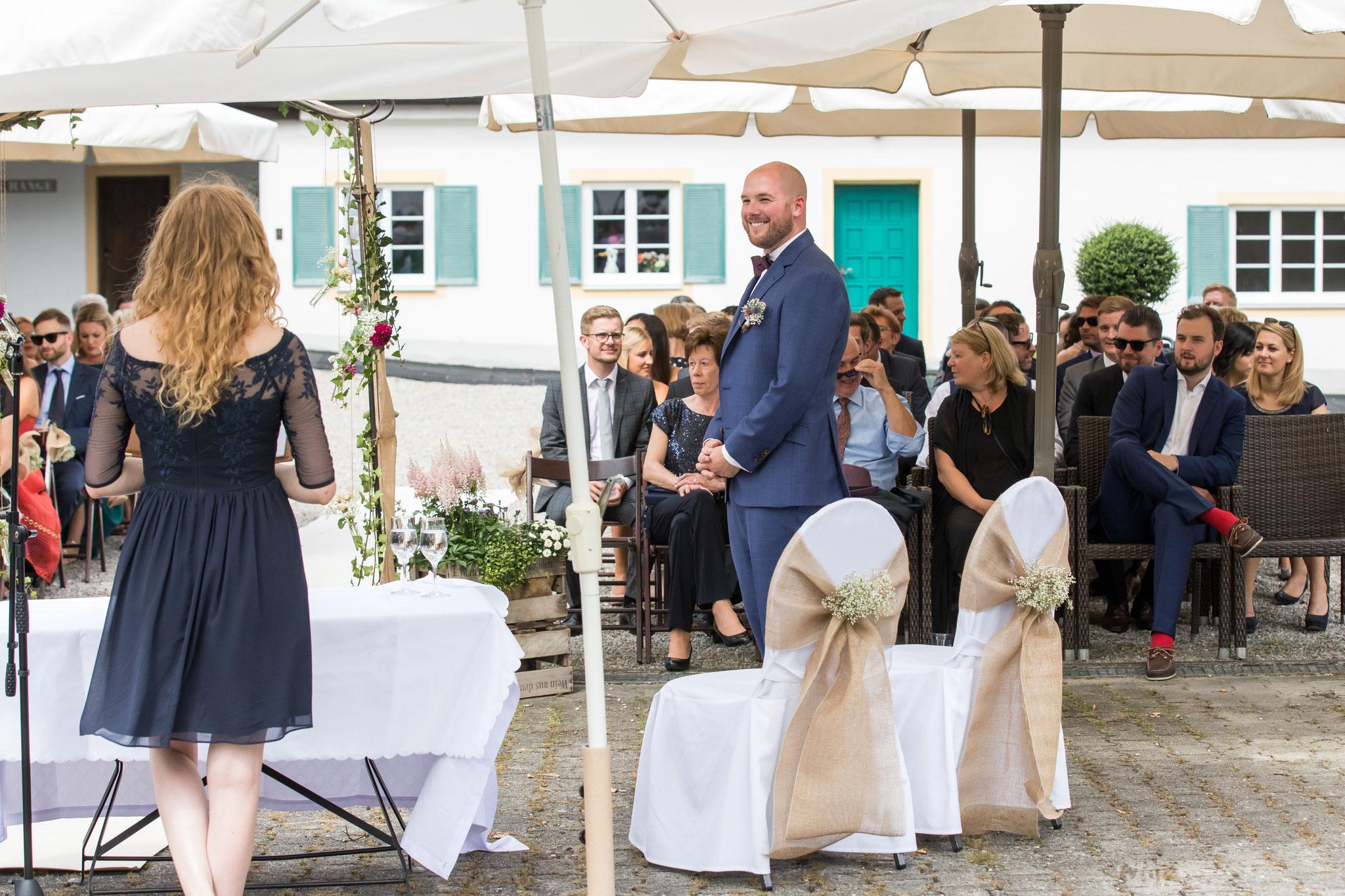 Wir warten auf die Braut! (Foto: Robert Klinger)