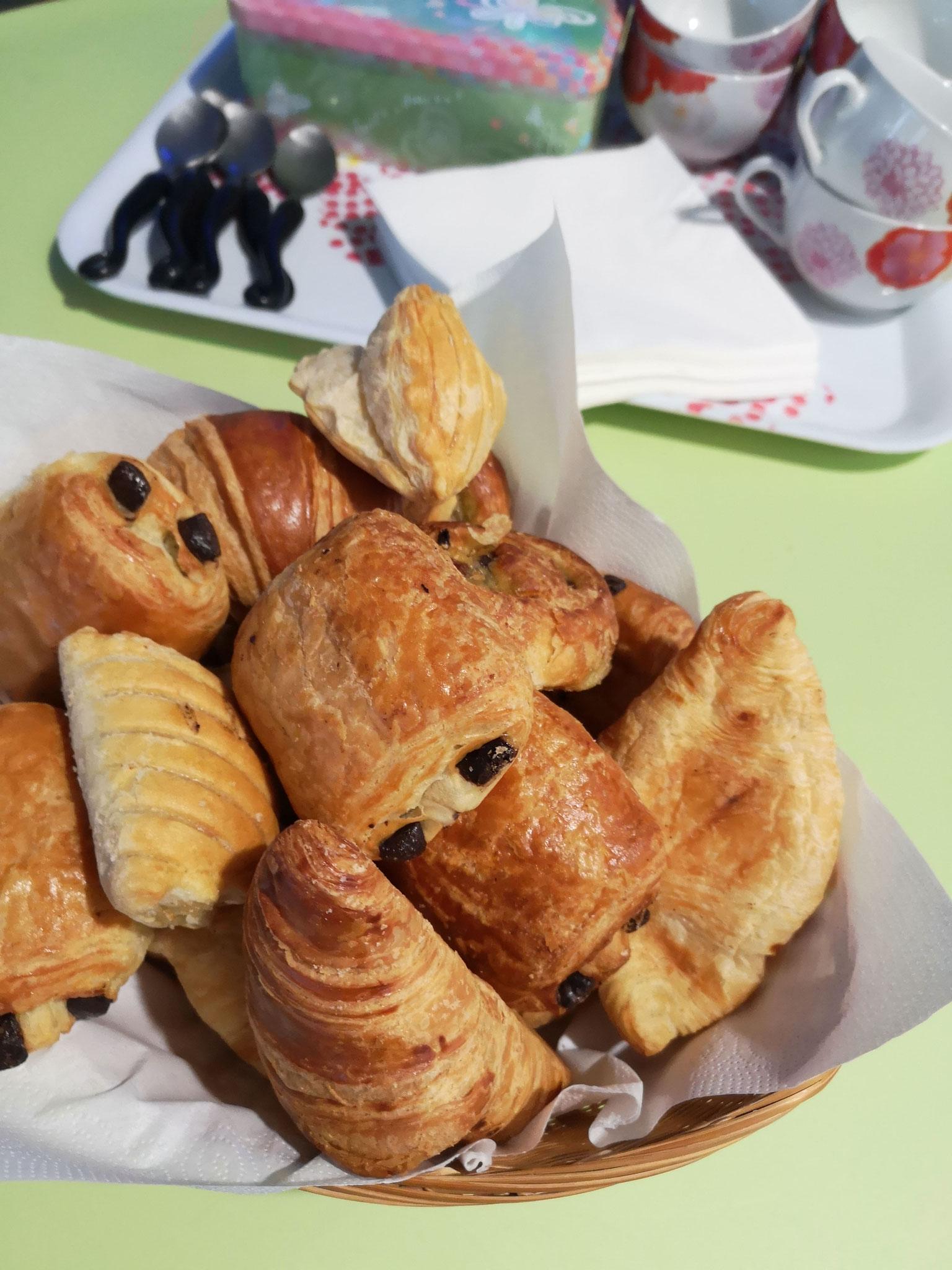 Petit accueil café... © Office de tourisme du Pays de Valois