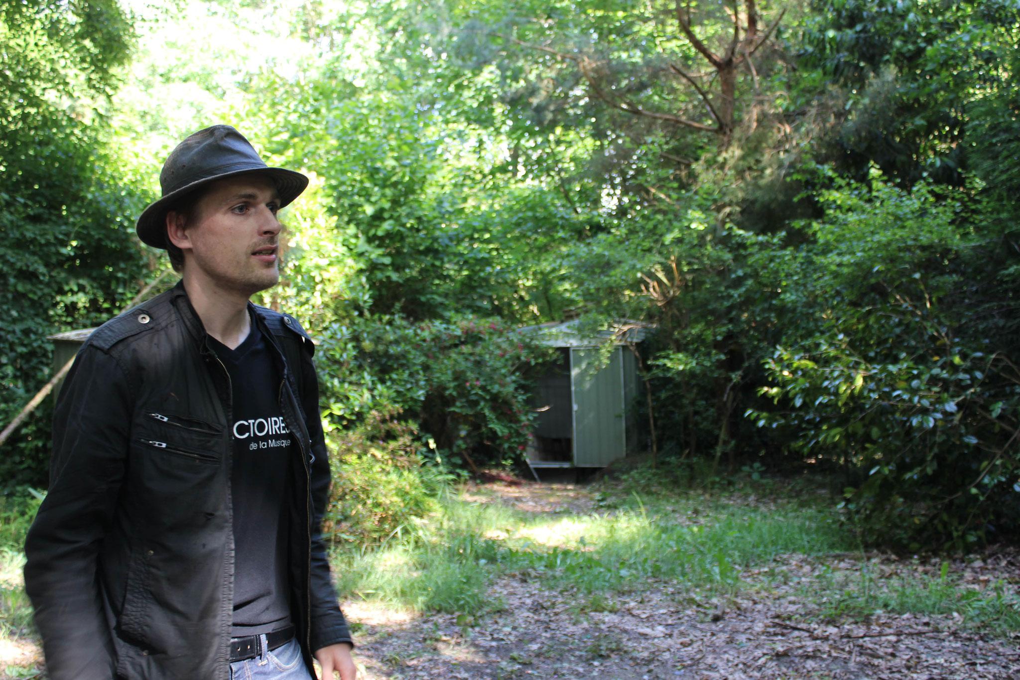 À la découverte du Bois de Rosoy avec Victor © OT du Pays de Valois