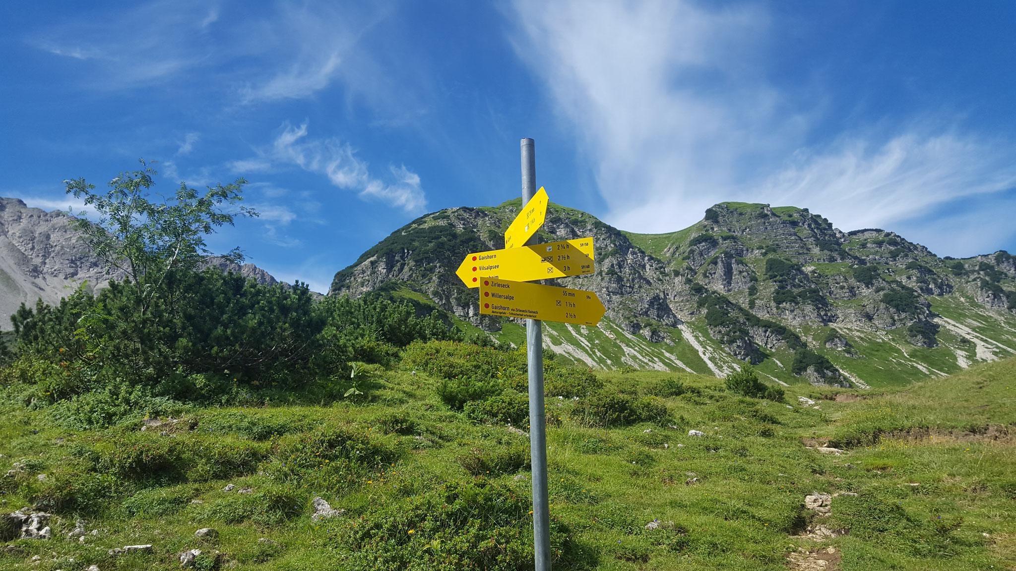 Wanderung zum Gaishorn