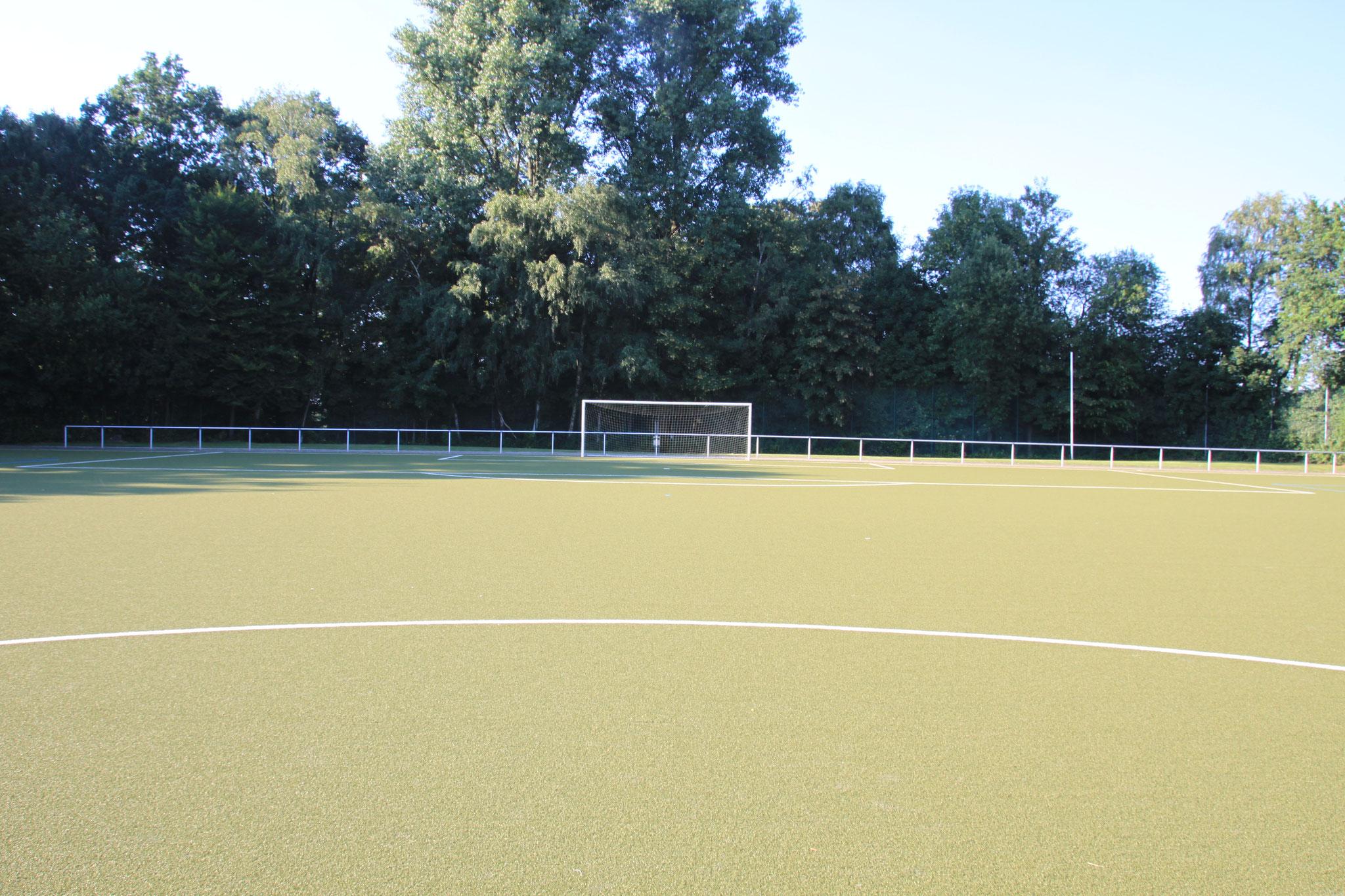 Sportplatz Sicht Mittelpunkt