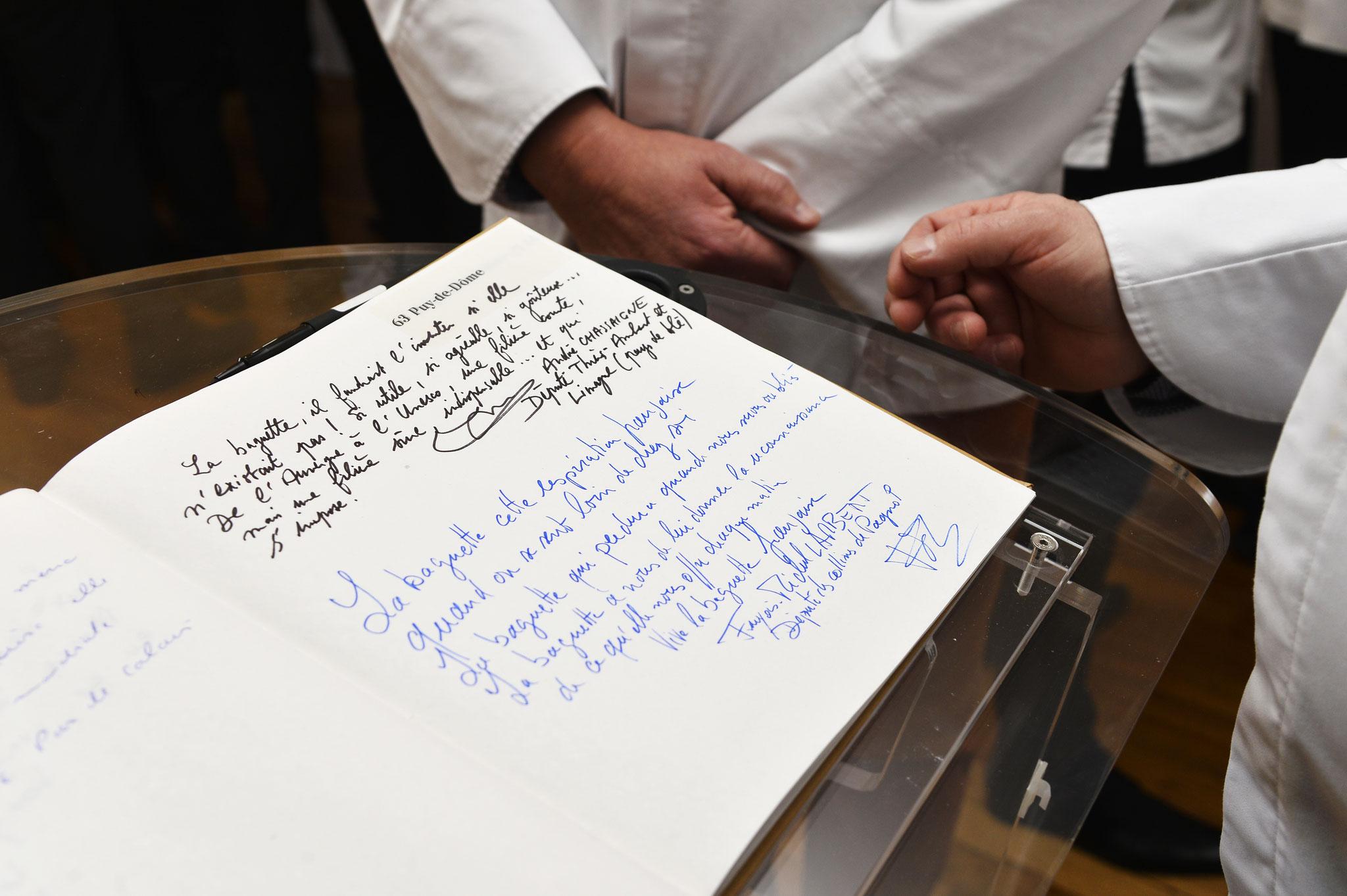 Soutien des députés à la candidature de la baguette au patrimoine immatériel de l'UNESCO
