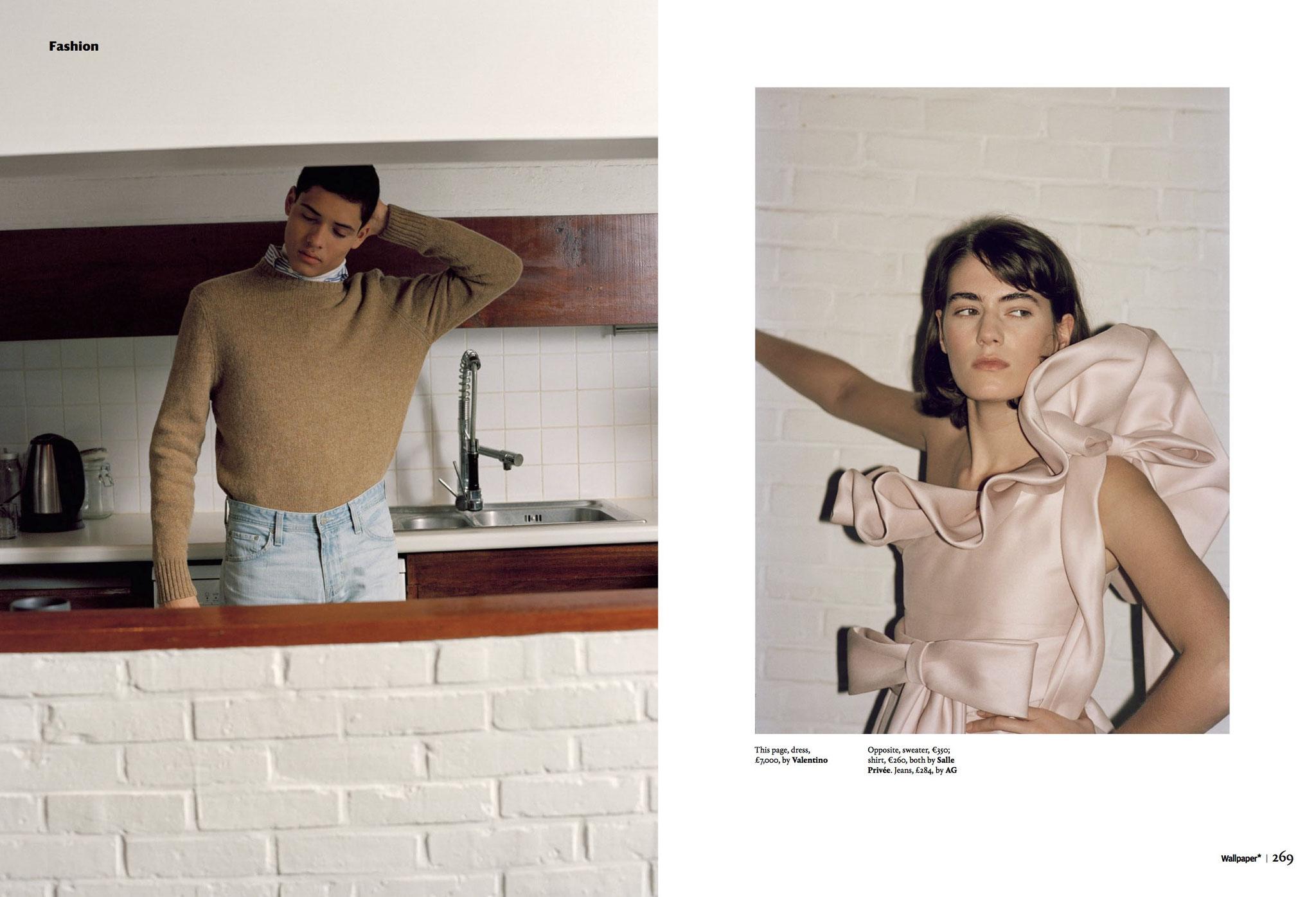 'Wallpaper' ©Esther Theaker Fashion Editor Jerome Andre