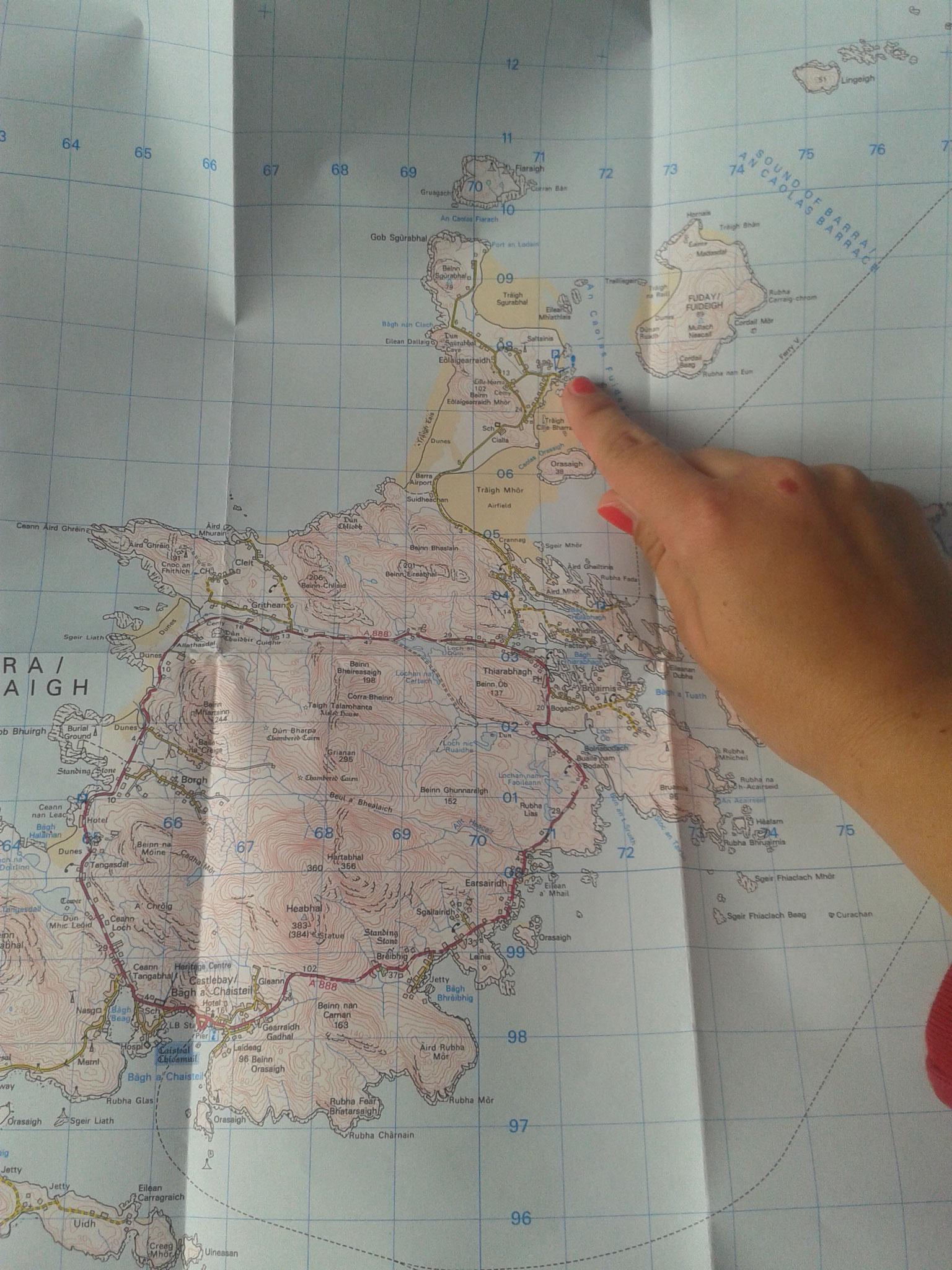Isle of Barra_Schottland_Die Roadies_Wohnmobil_Hund_Reisetagebuch_Karte