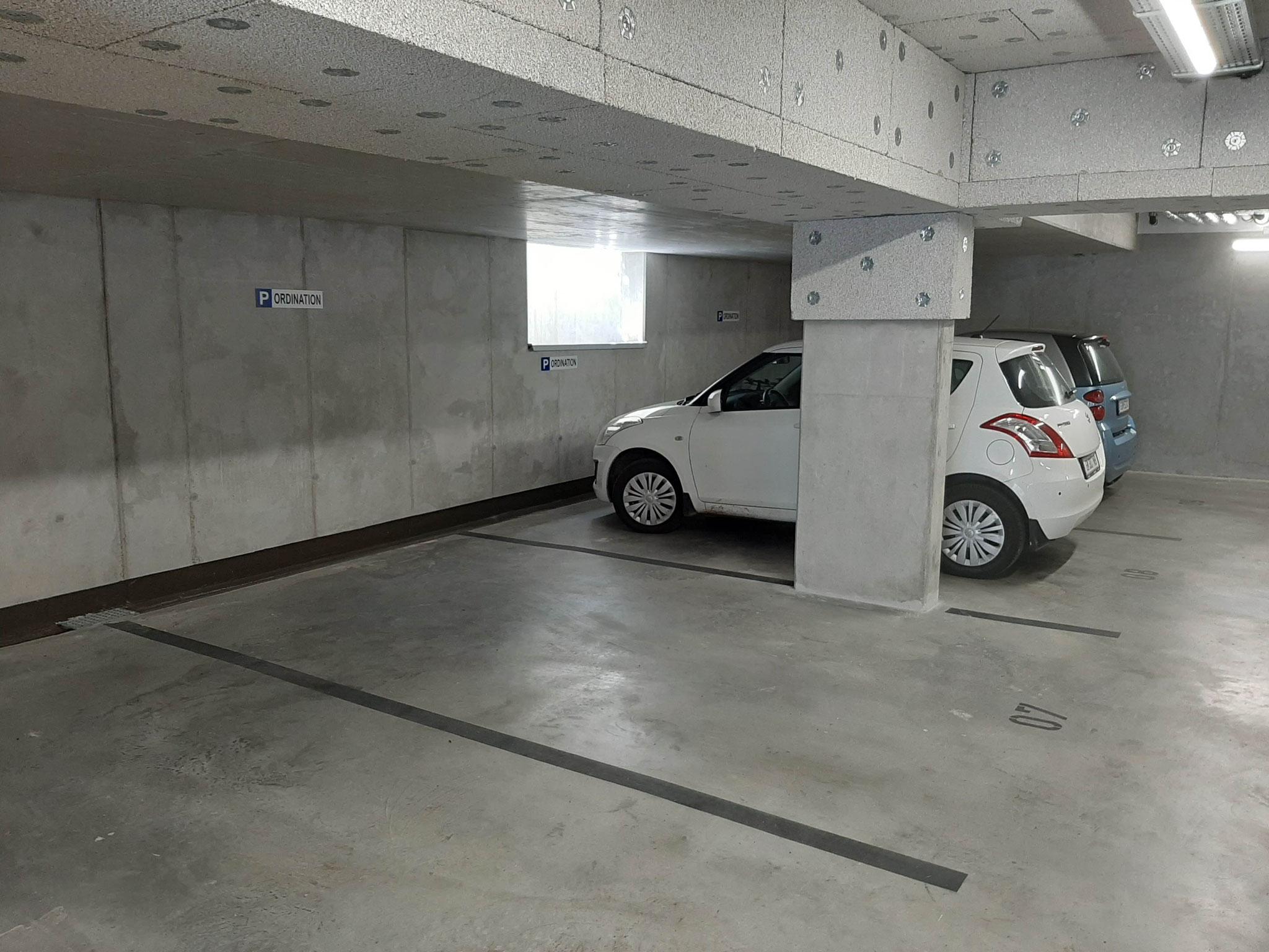 Garagenparkplätze