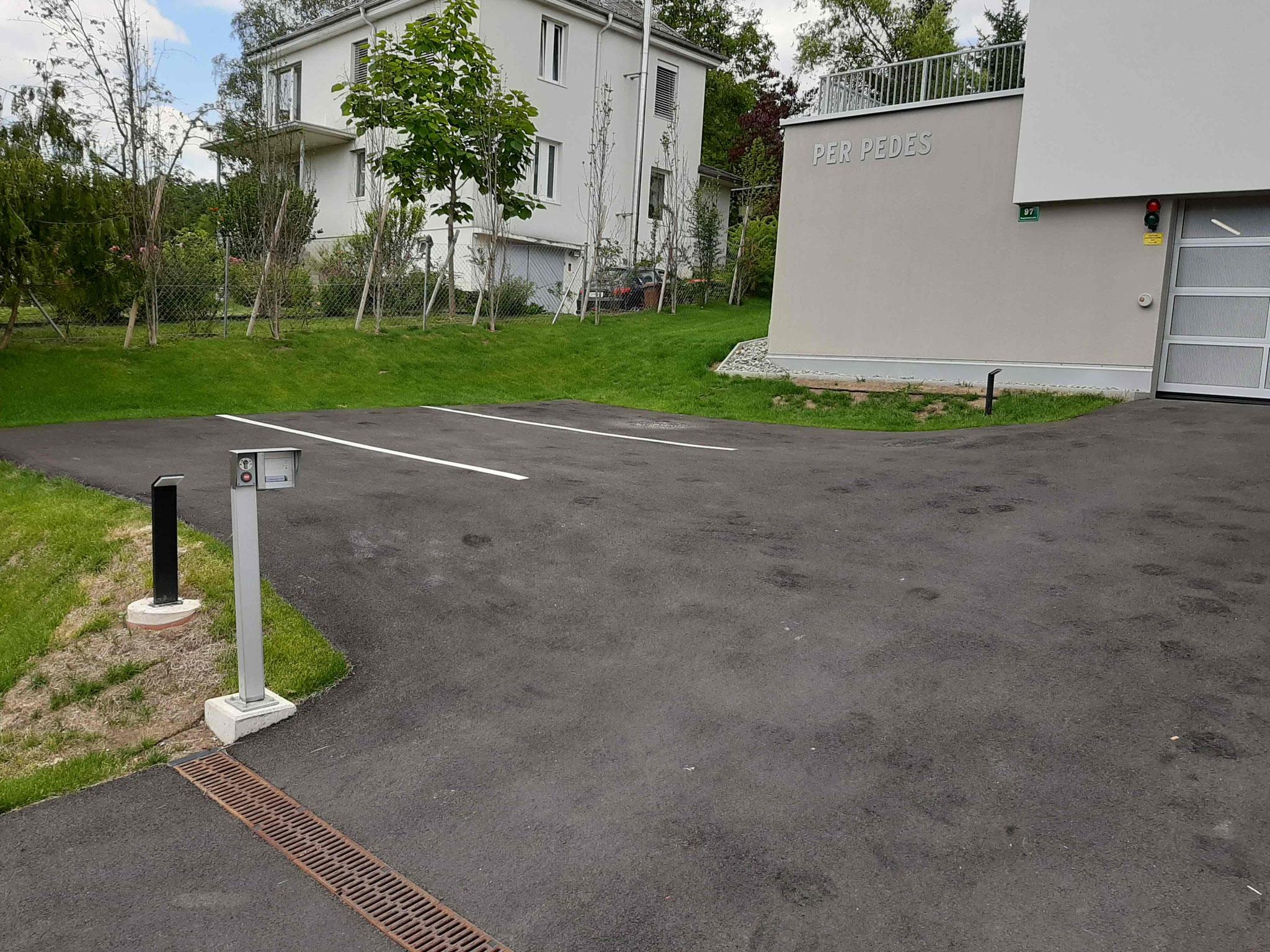 Besucherparkplätze