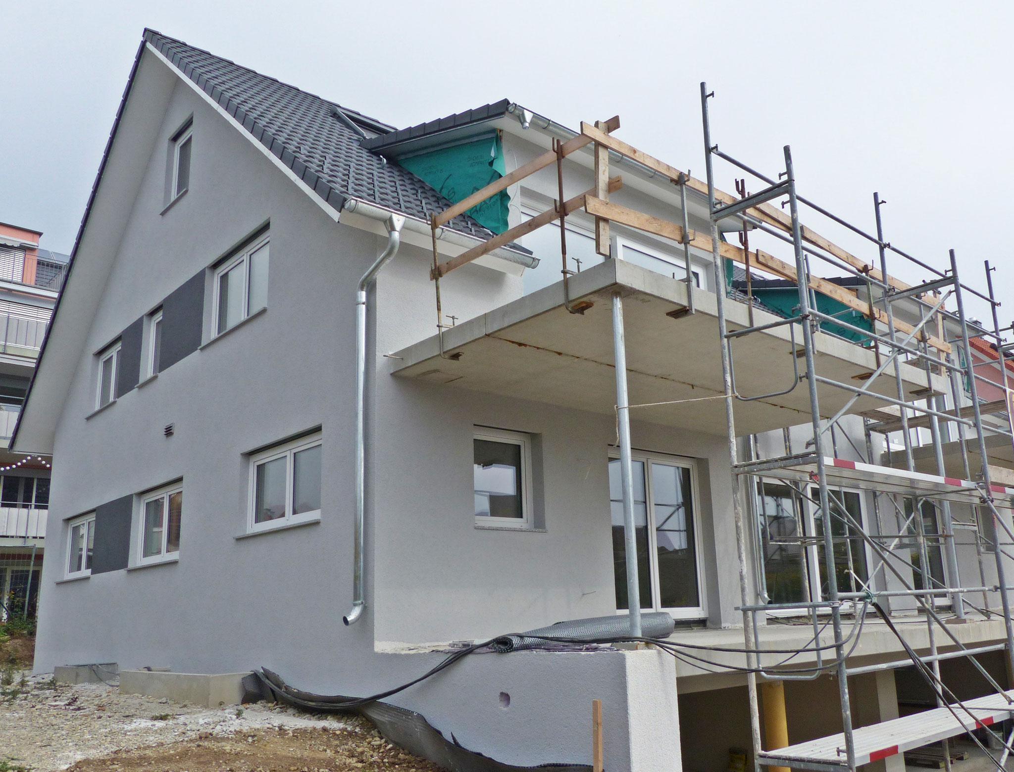 Bild aus der Bauphase
