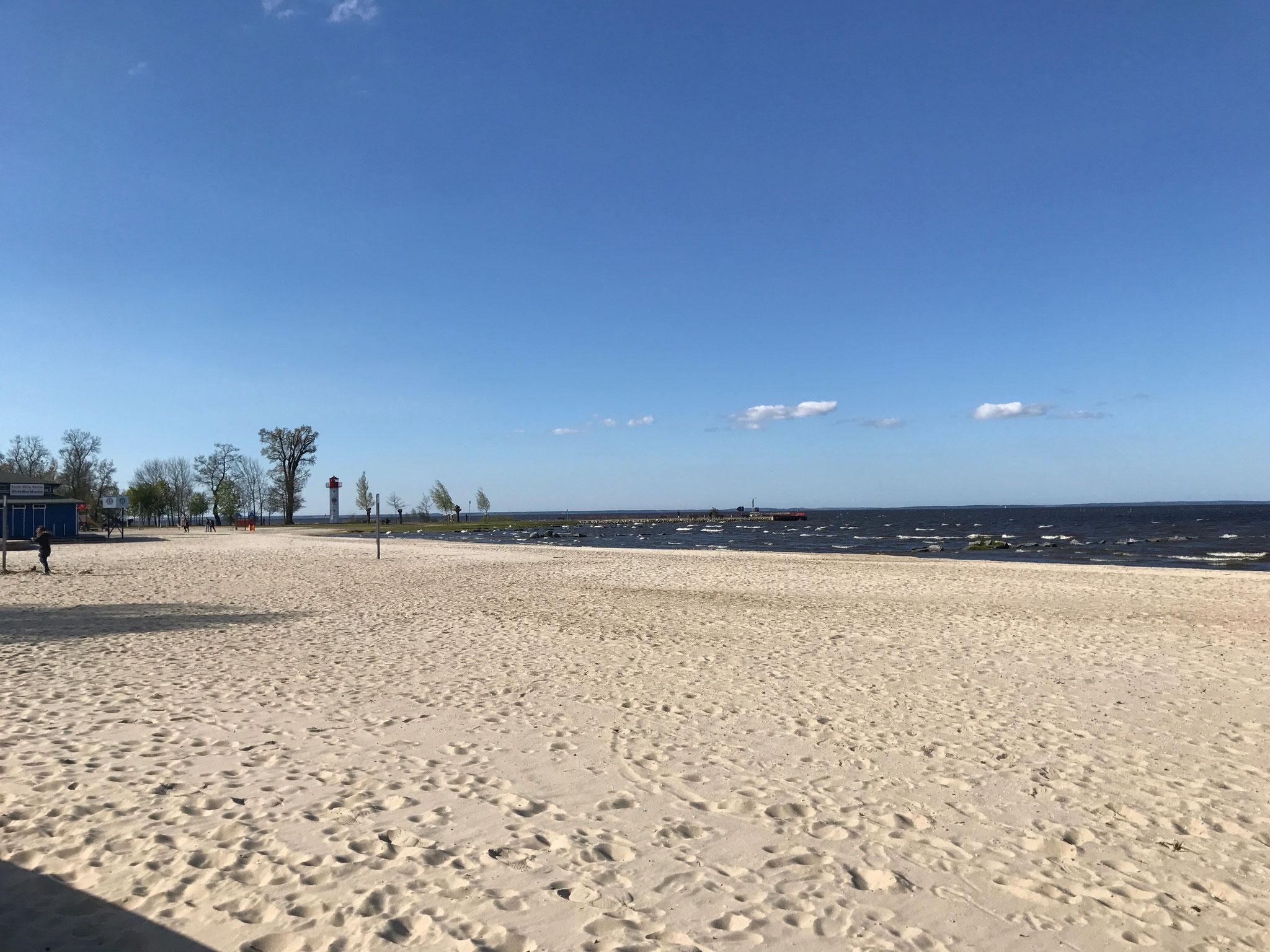 Der Strand ist nur 300m entfernt