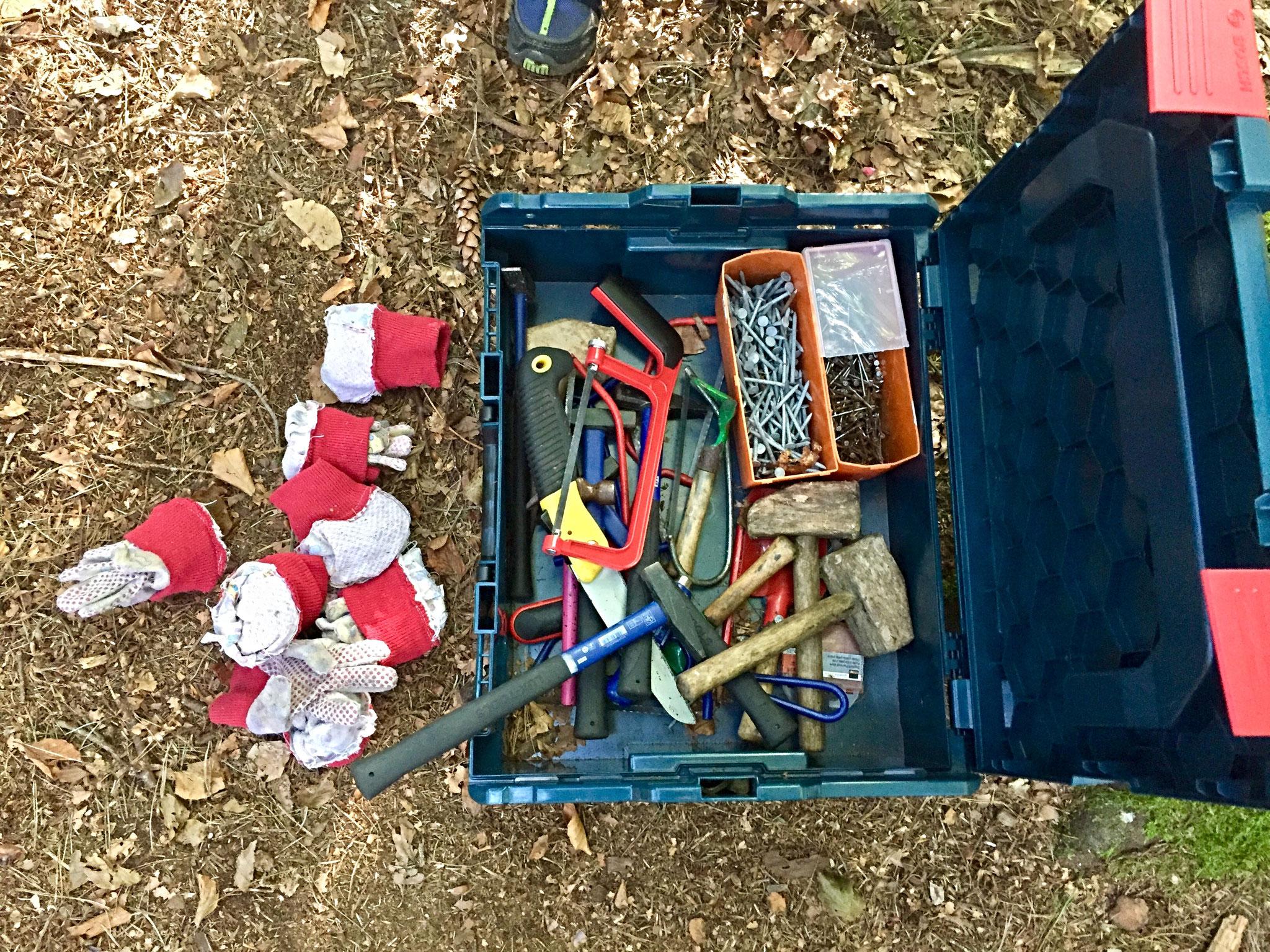 unsere Werkzeugbox