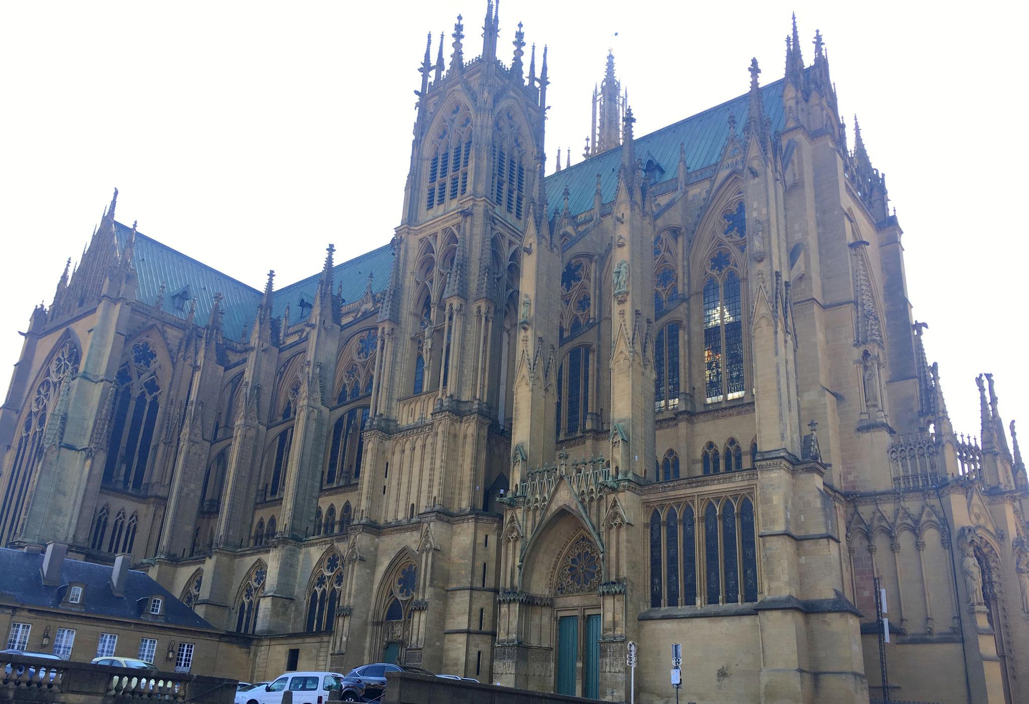 Die Kathedrale Saint-Etienne in Metz