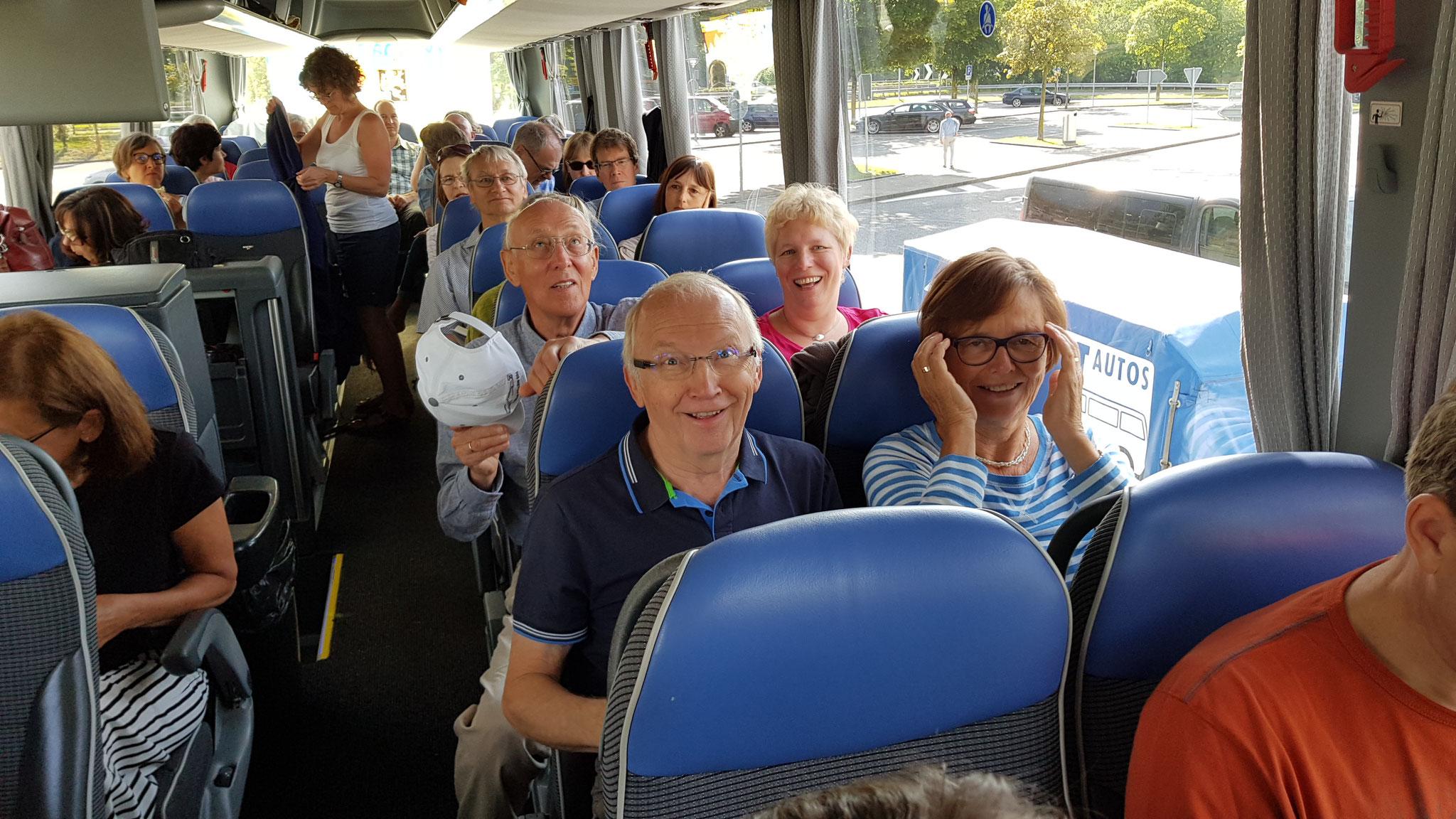 Unterwegs nach Mailand (Chorreise 2018)