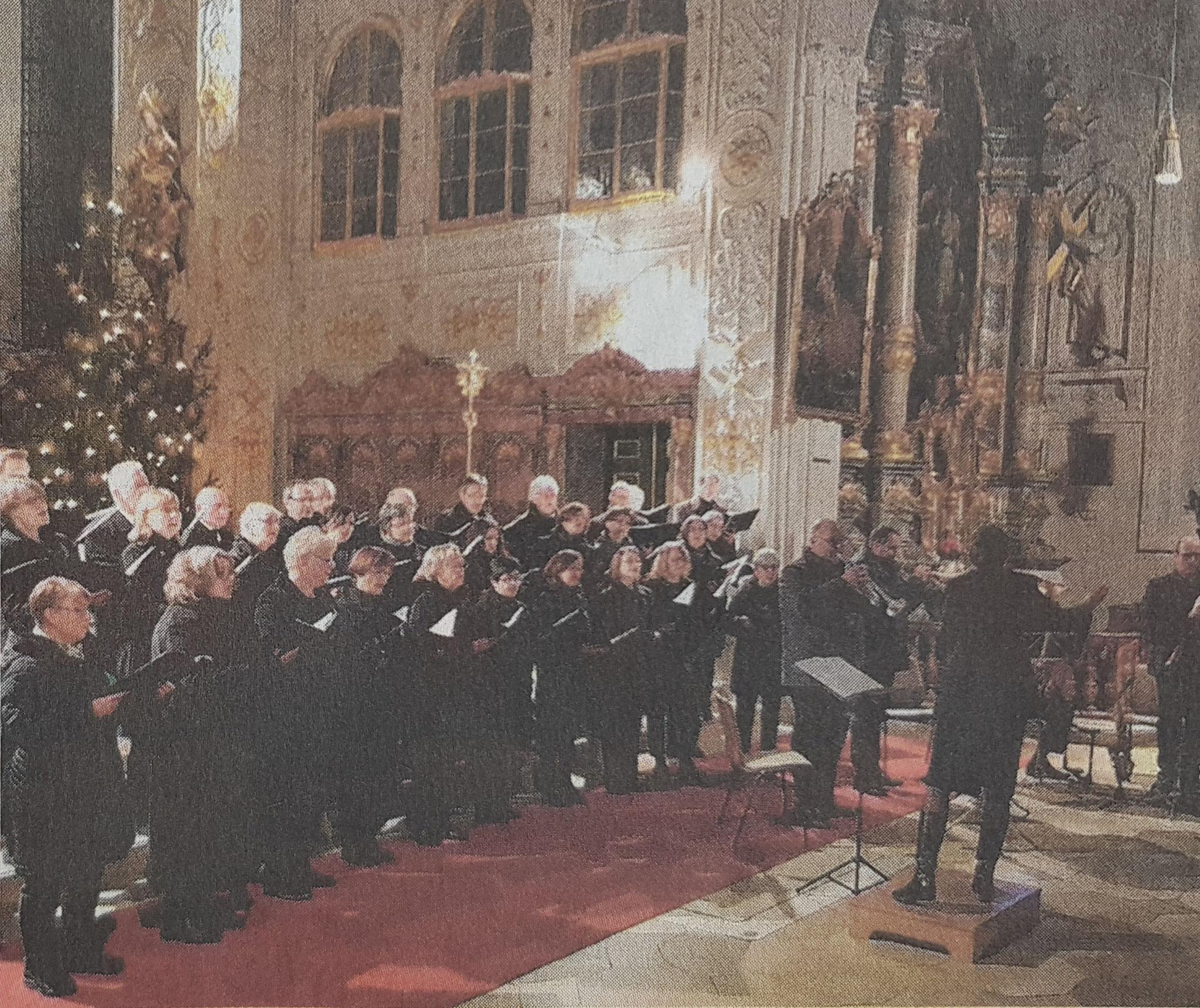 Weihnachtliches Adventskonzert (Hofkirche / Januar 2020)